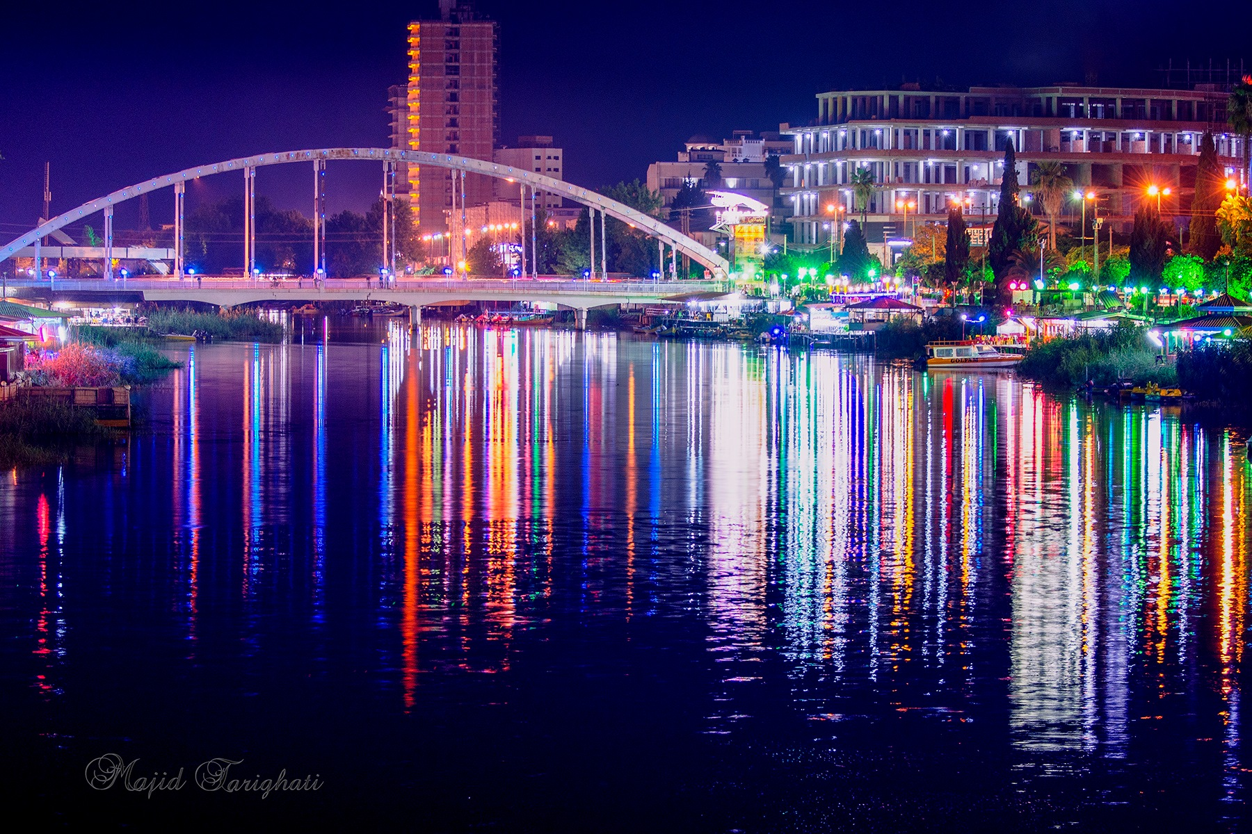 City at night. by Majid Tarighati