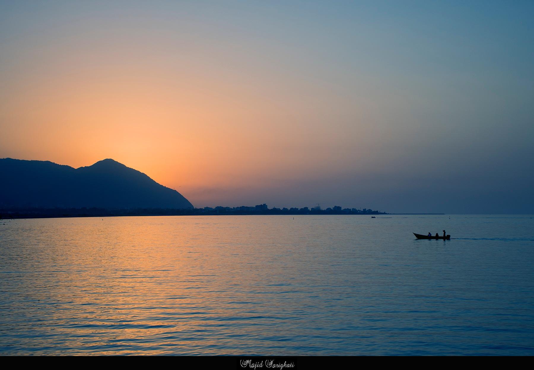 Ramsar beach by Majid Tarighati