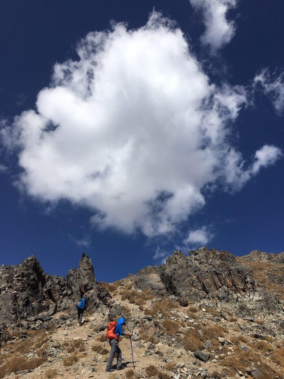hiking by Majid Tarighati