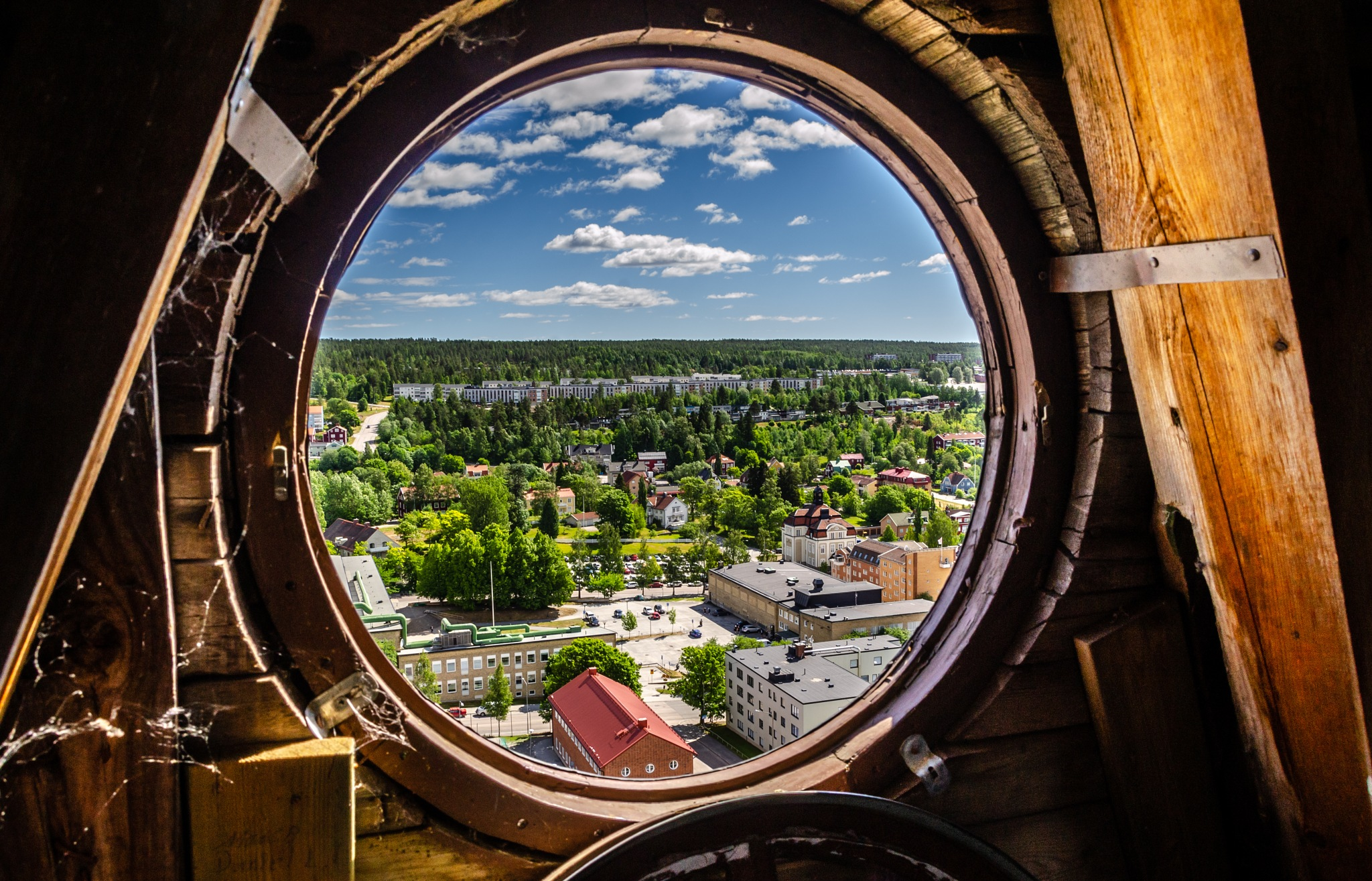 From the highest church tower in town by Shoayb