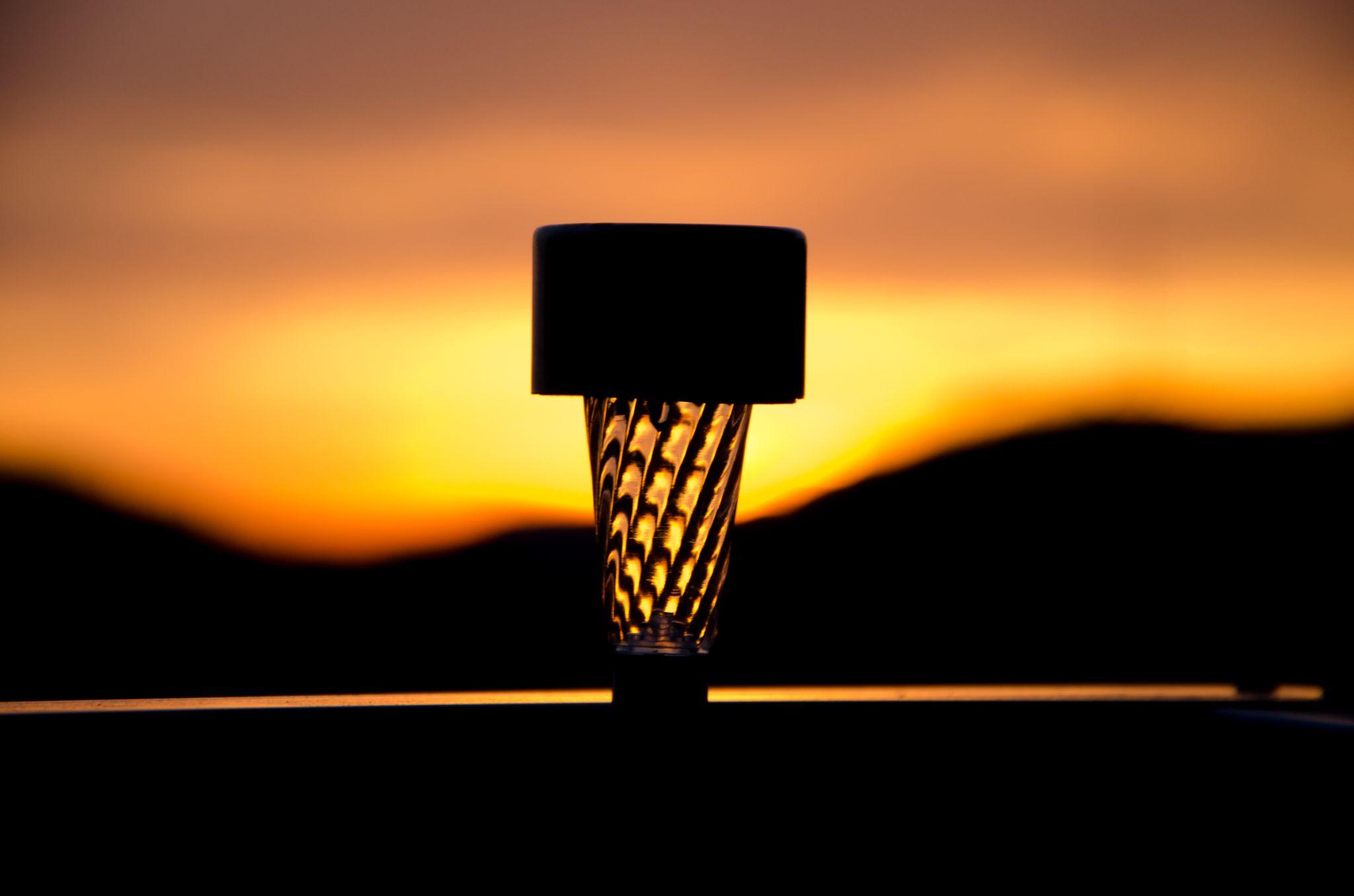 sunset lamp by Shoayb