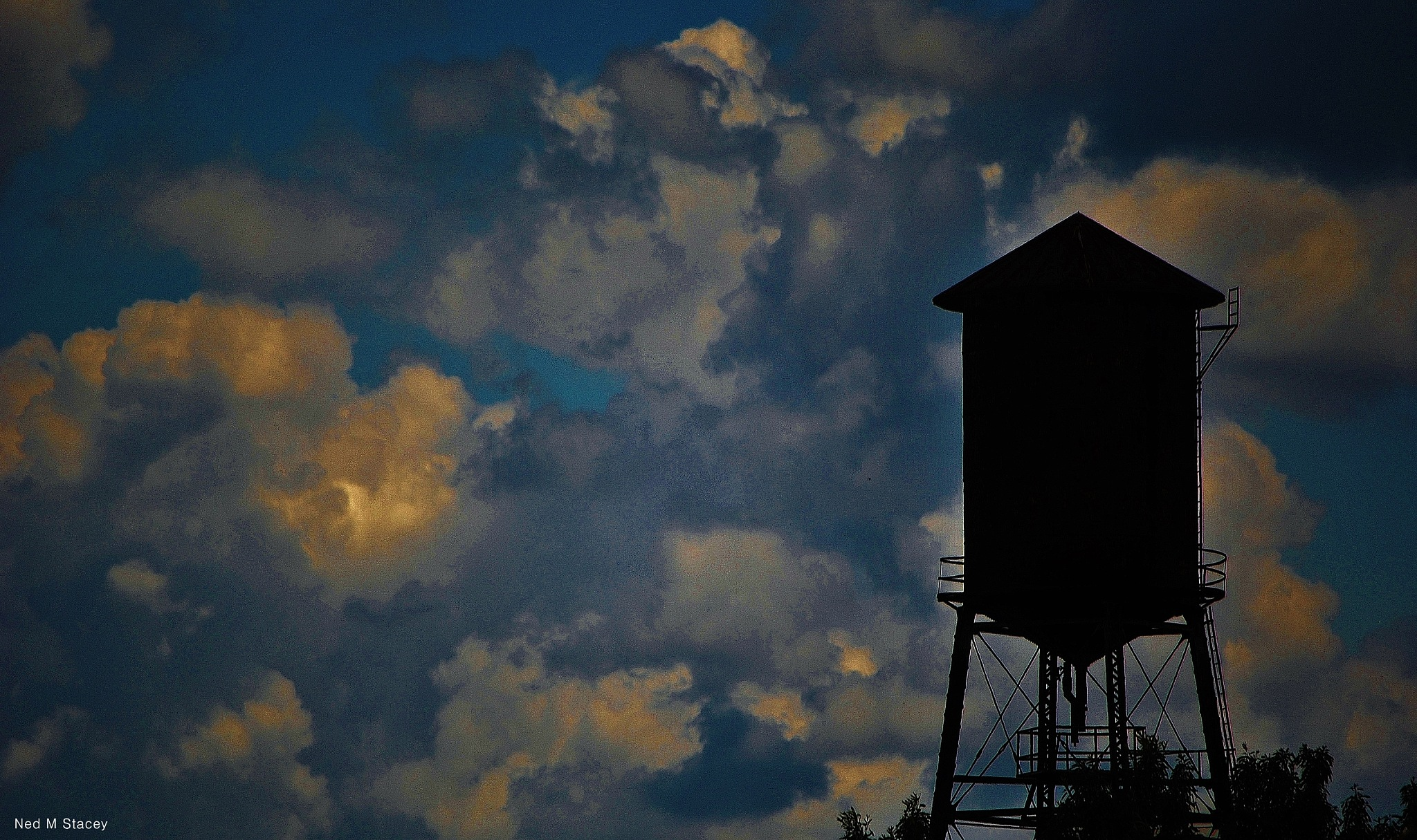 Water Tower Atlanta by NED