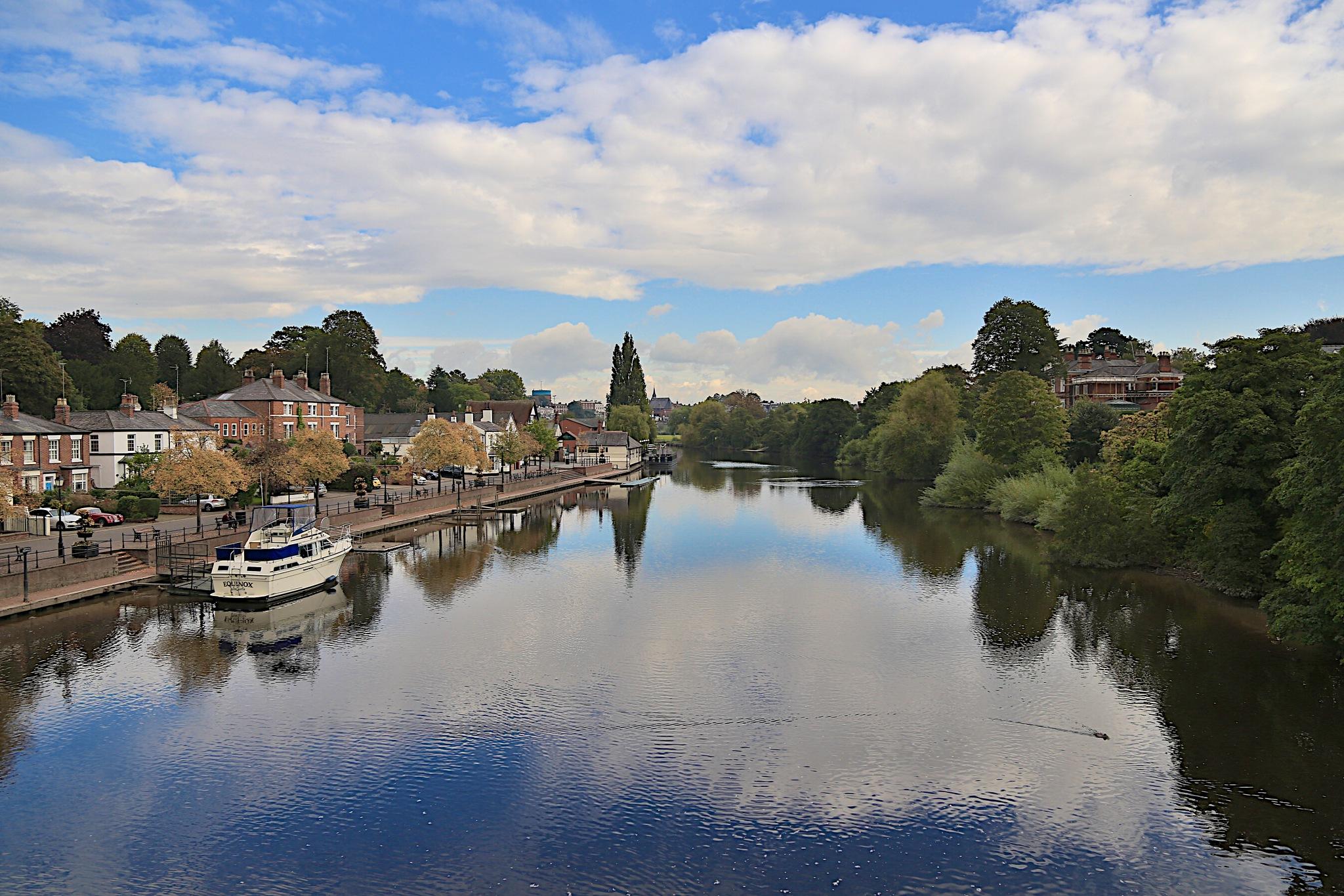 The River Dee by Ellisroger
