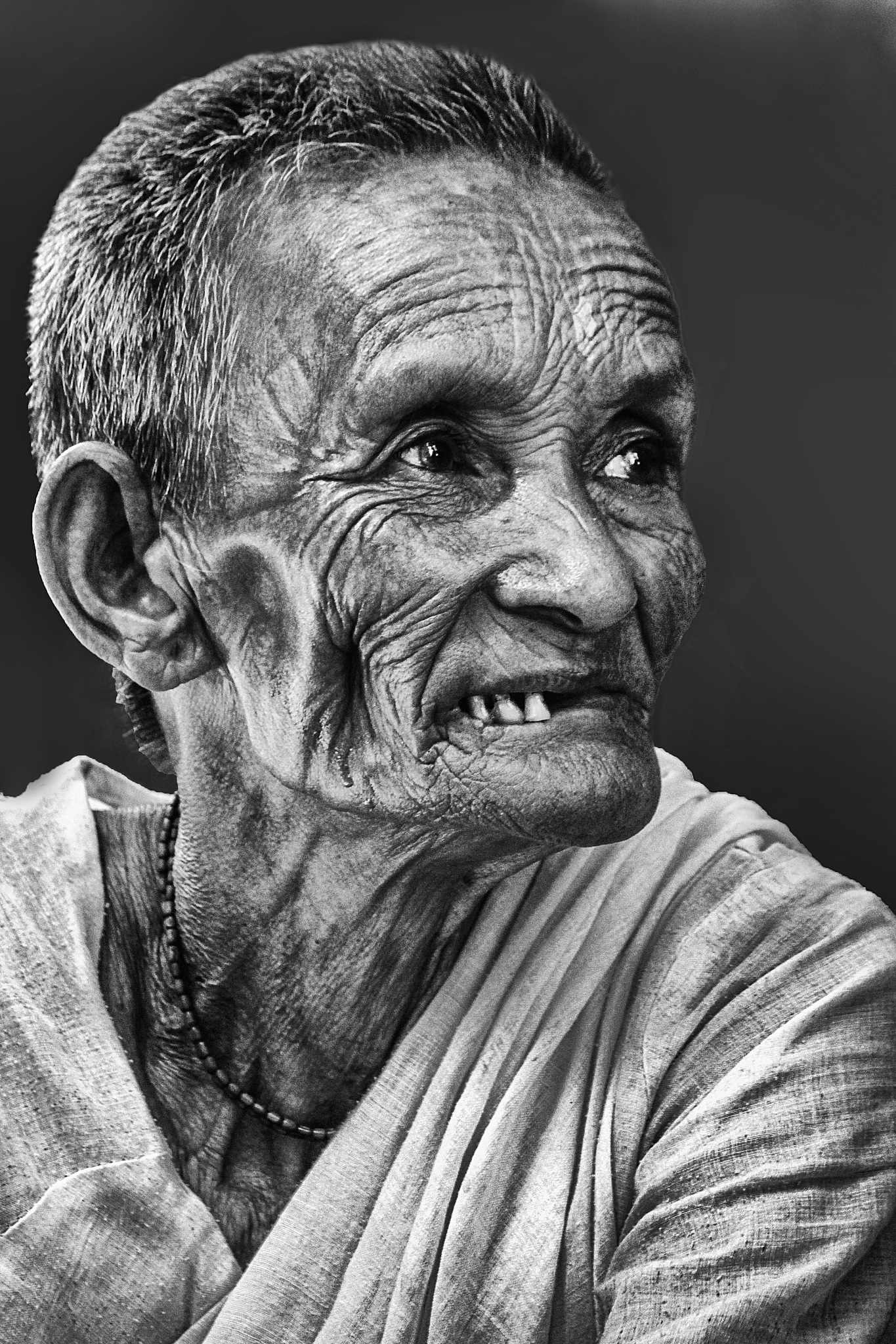 Wrinkles of Experience by ParthaChakraborty