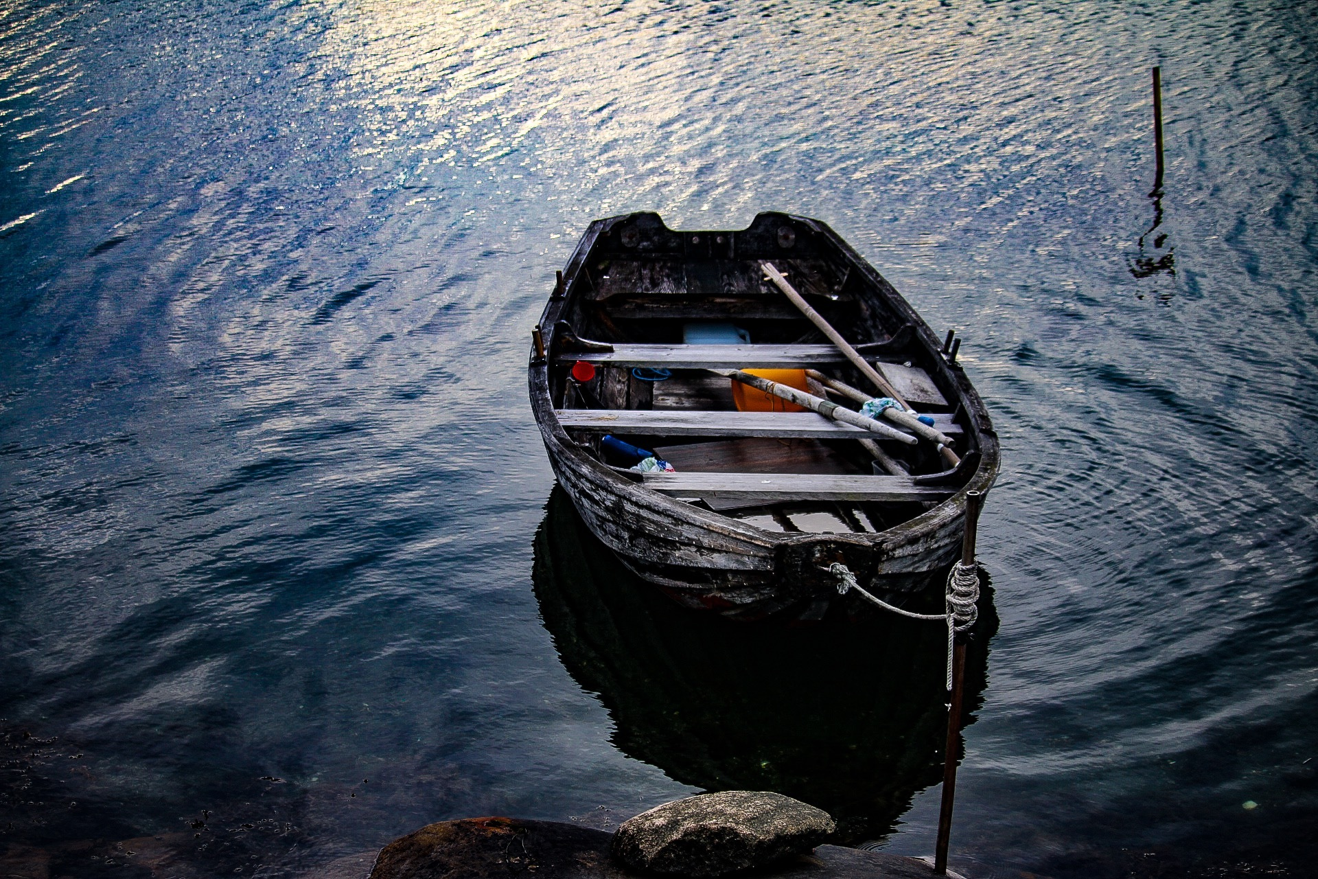 Old Boat by Ingstina
