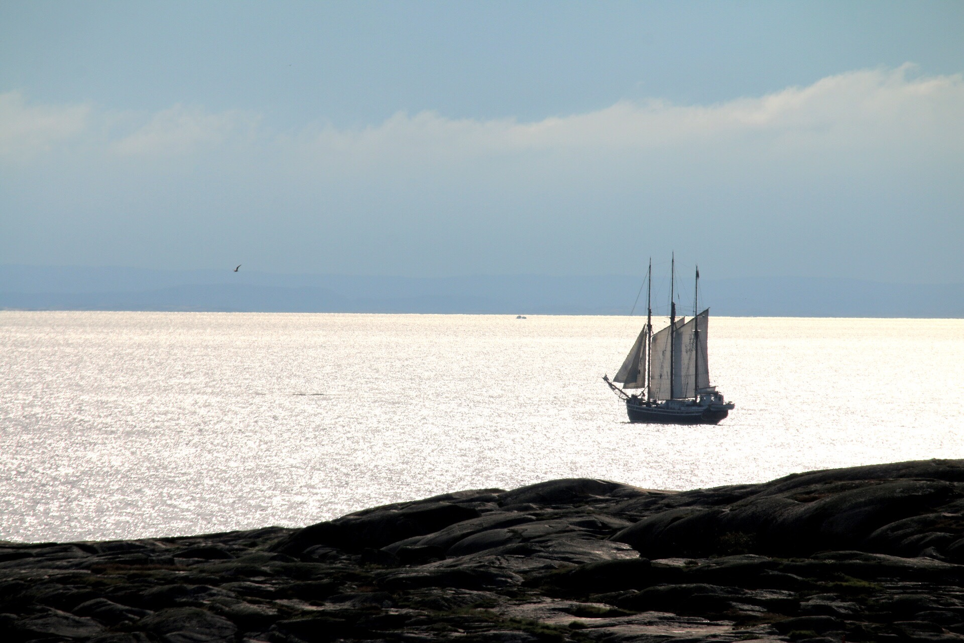 Silver sea by Ingstina
