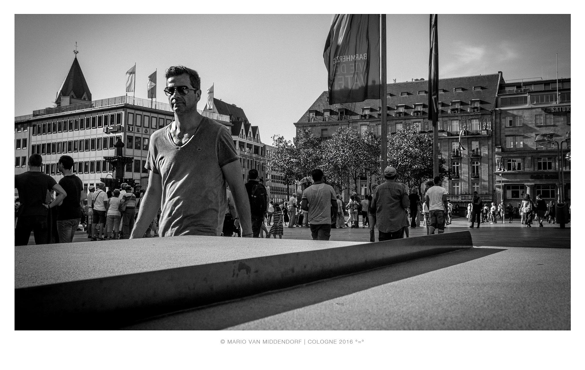 Cologne People & Visitors (01) by Mario van Middendorf