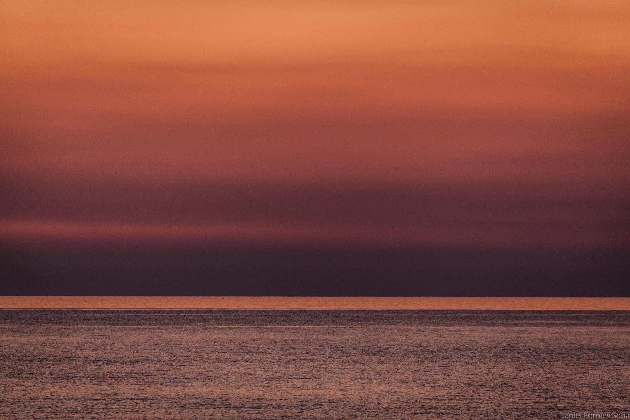 Dawn in Sperlonga (II) by Daniel Forniés Sòria