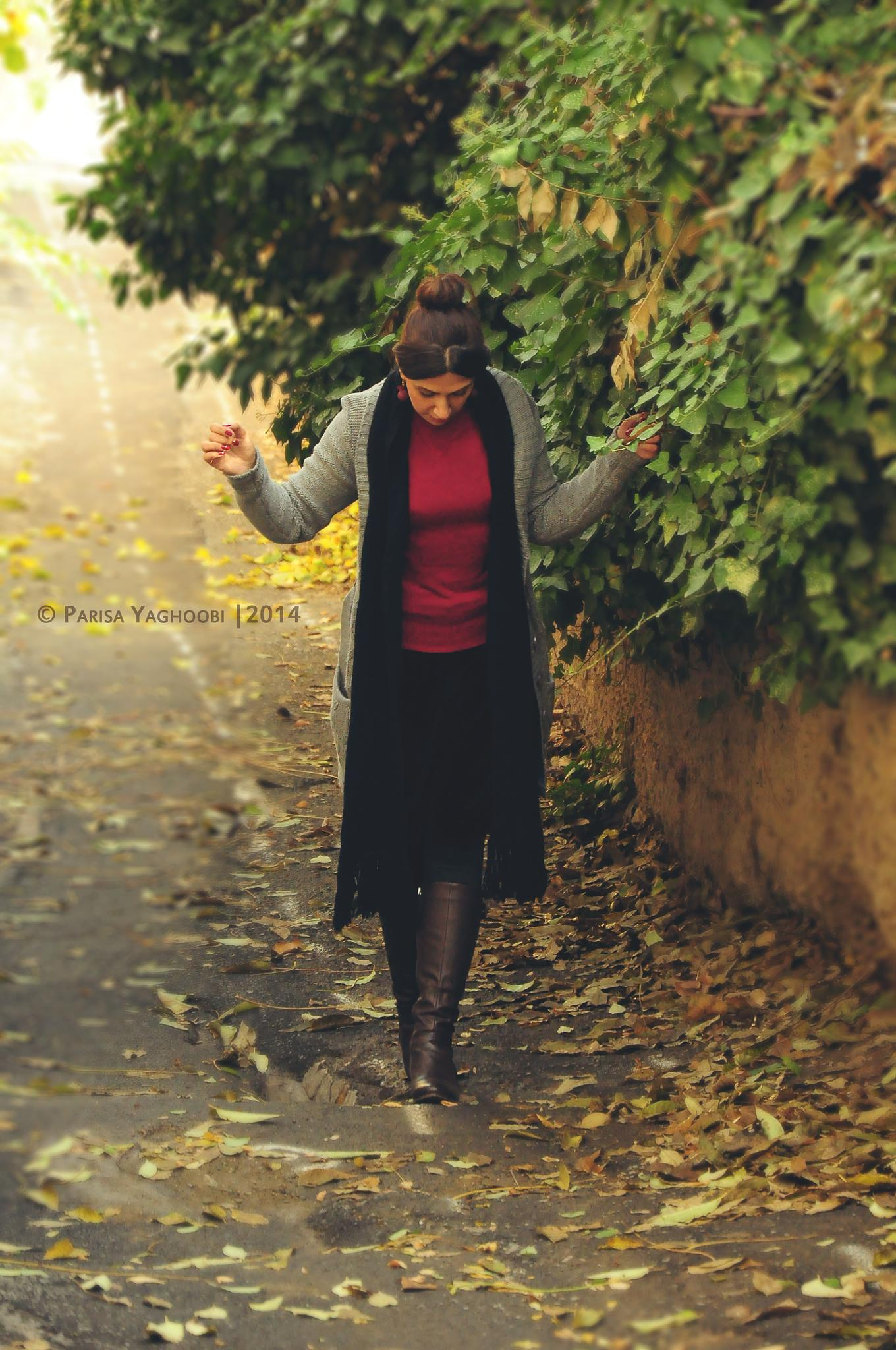 Autumn Walking by Parisa Yaghoobi