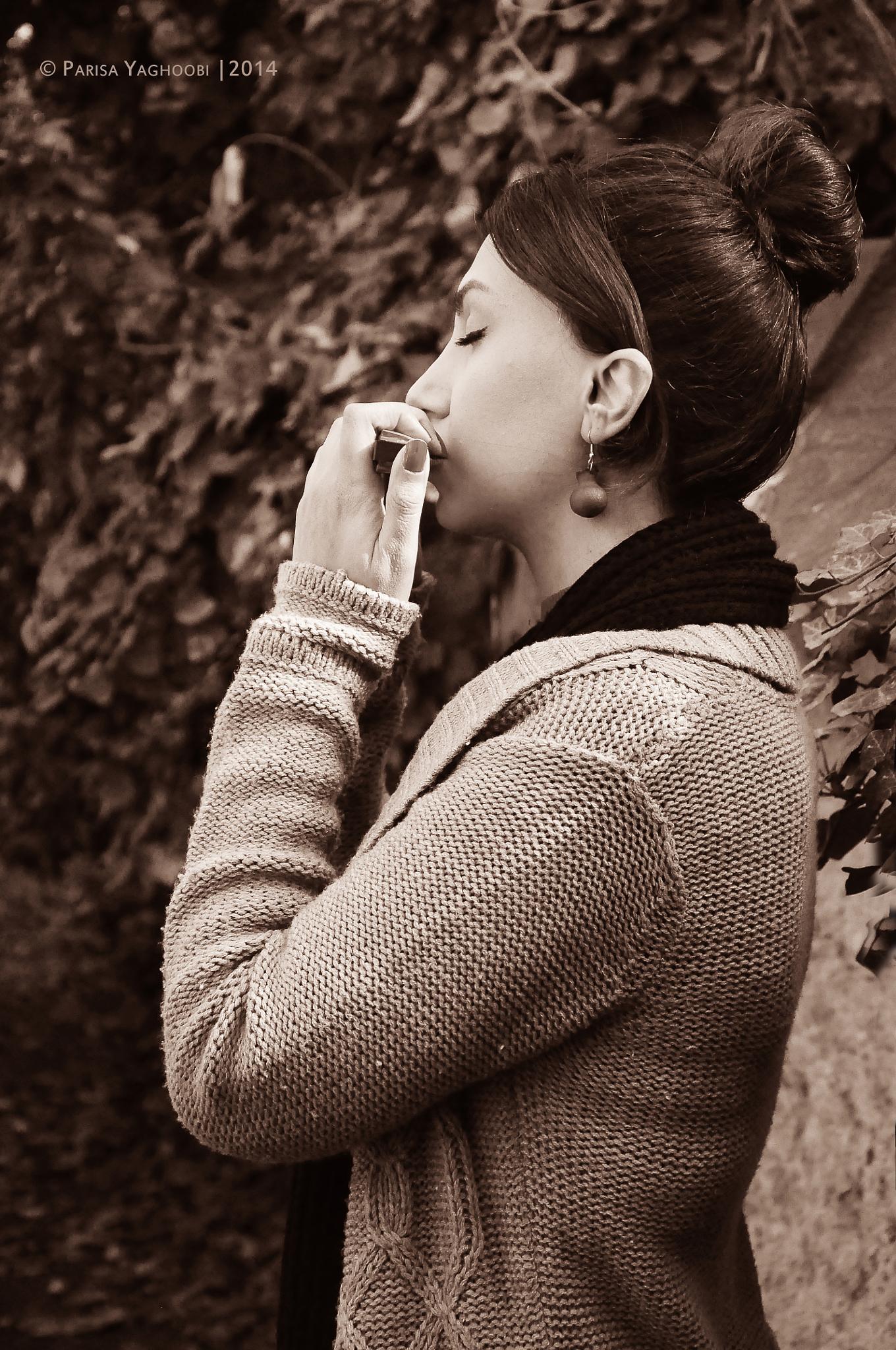 "a Shot of the Story Album X ""Autumn Walking"" by Parisa Yaghoobi"