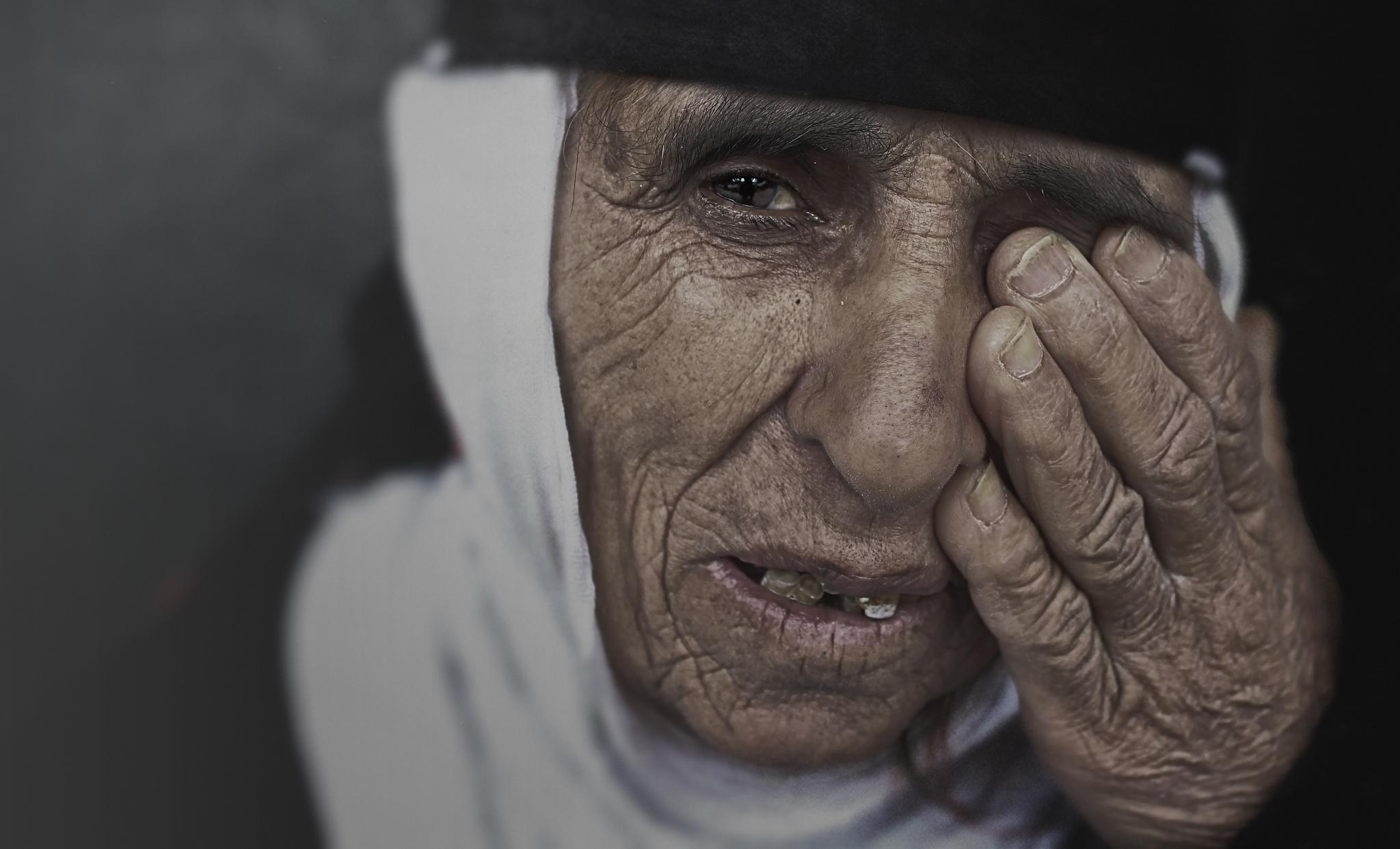 #portrait  #streetphotography #blackandwhite #kurdish #iraqi by Azad Zebaree
