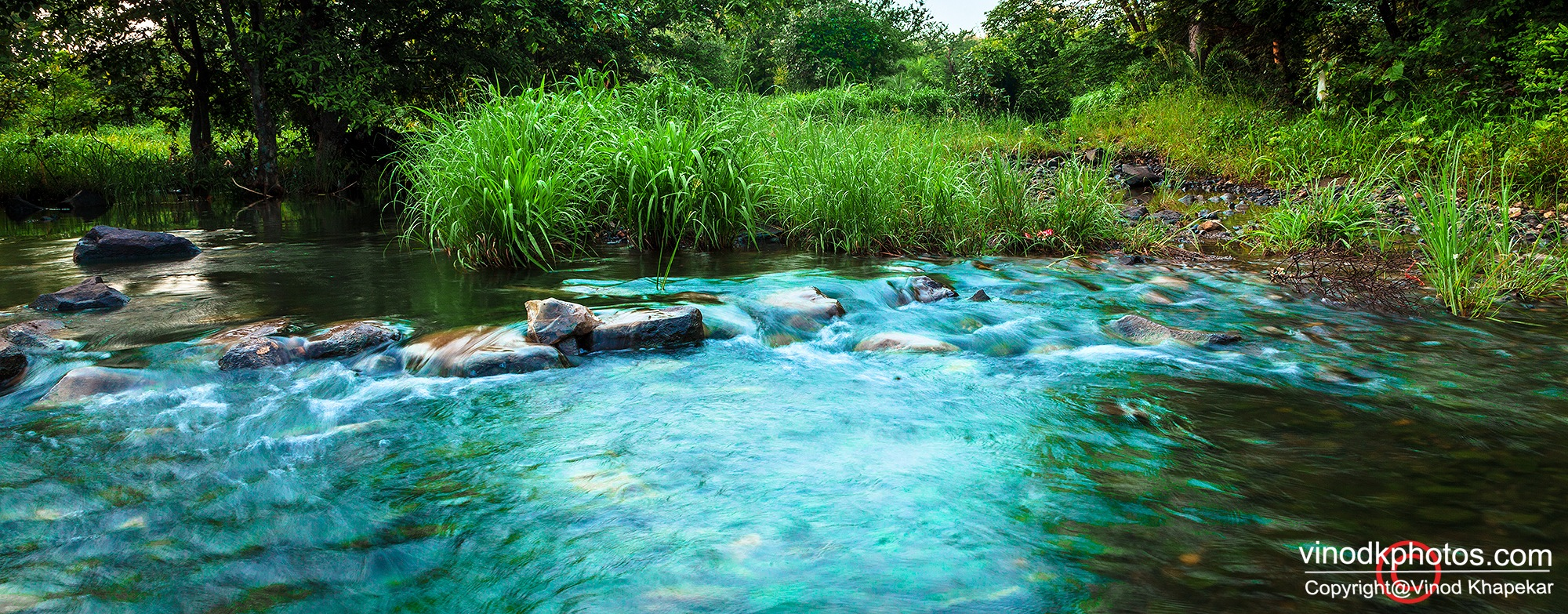 Blue Water !! by Vinod Khapekar