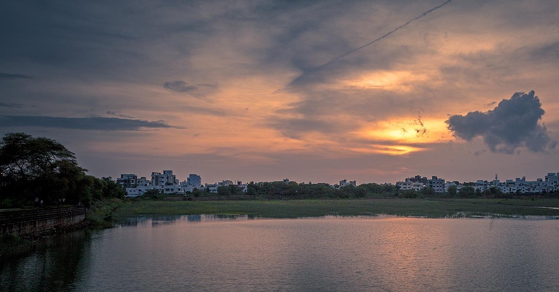 Drama of Nature. by Vinod Khapekar