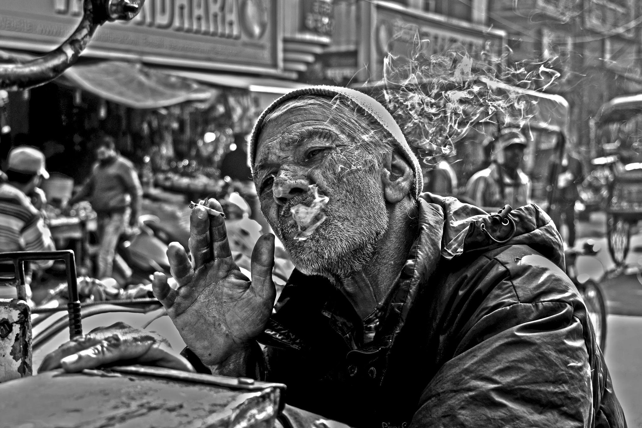Passionate Smoker by Subhayan Maji
