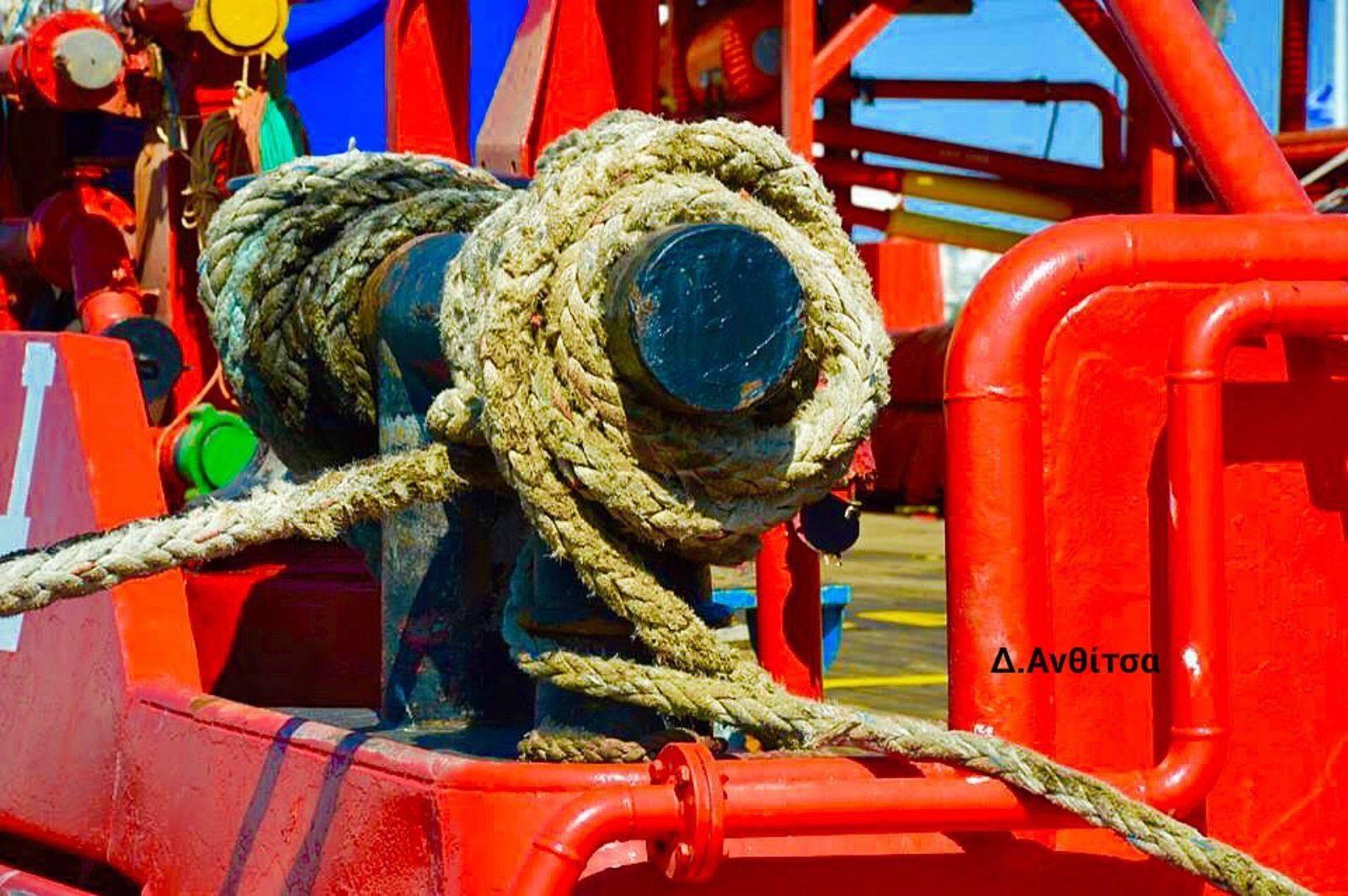 Rescue ship by Dimitrula Anthitsa