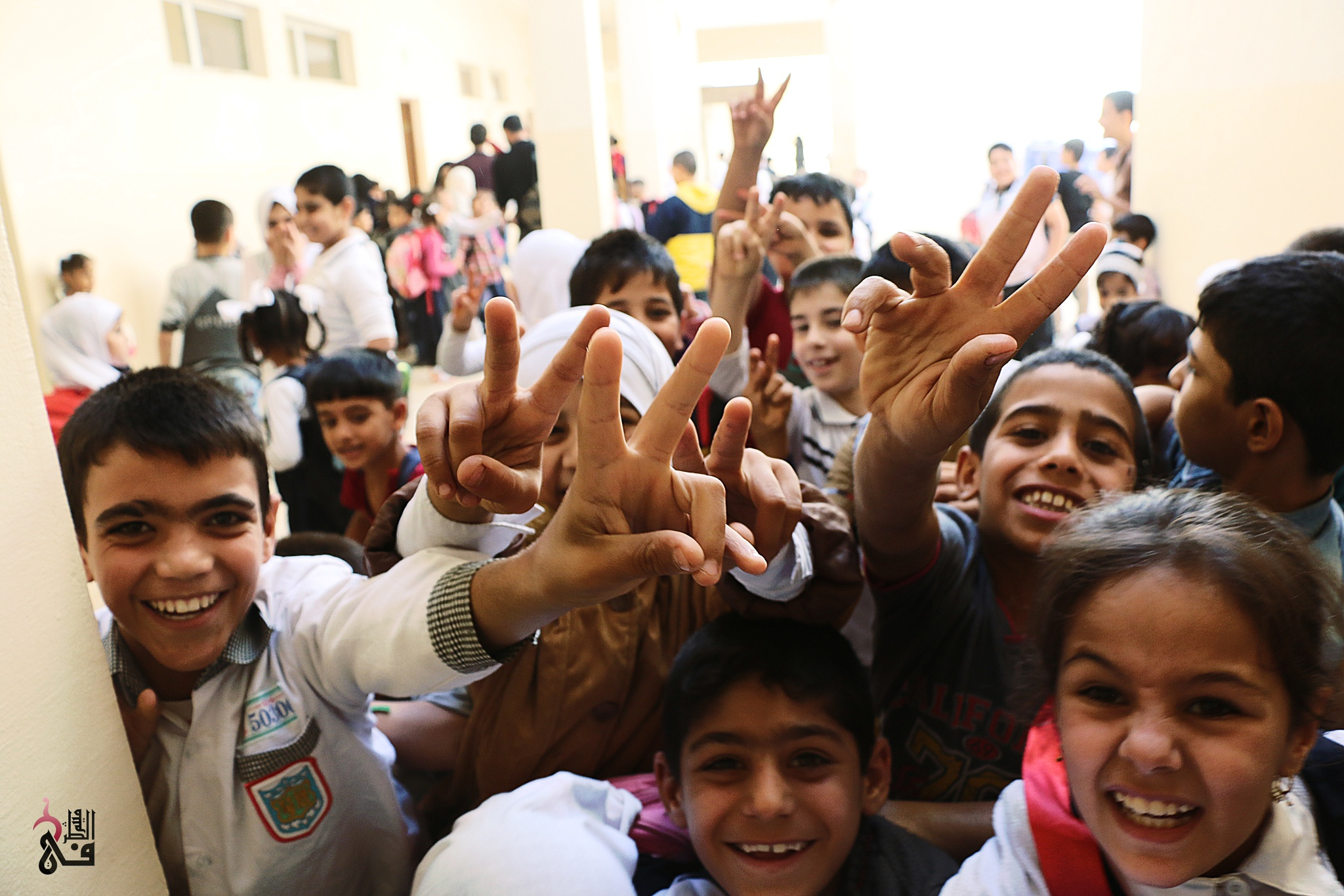 Children displaced from areas occupied by ISIS in Iraq/الاطفال النازحين من المناطق التي احتلها داعش  by maithamturfi