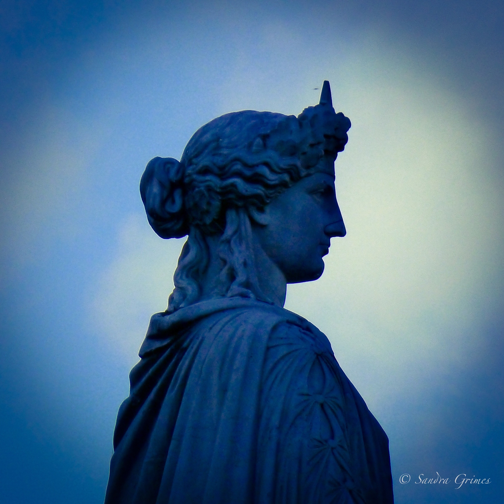 French Statue of Liberty on River Seine by TrixieGirl5192