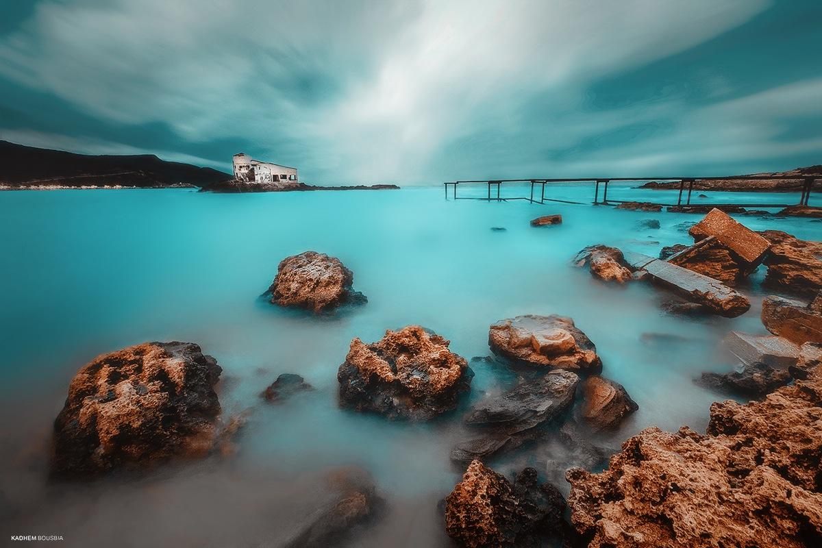 the blue sea IV by kadhem bousbia