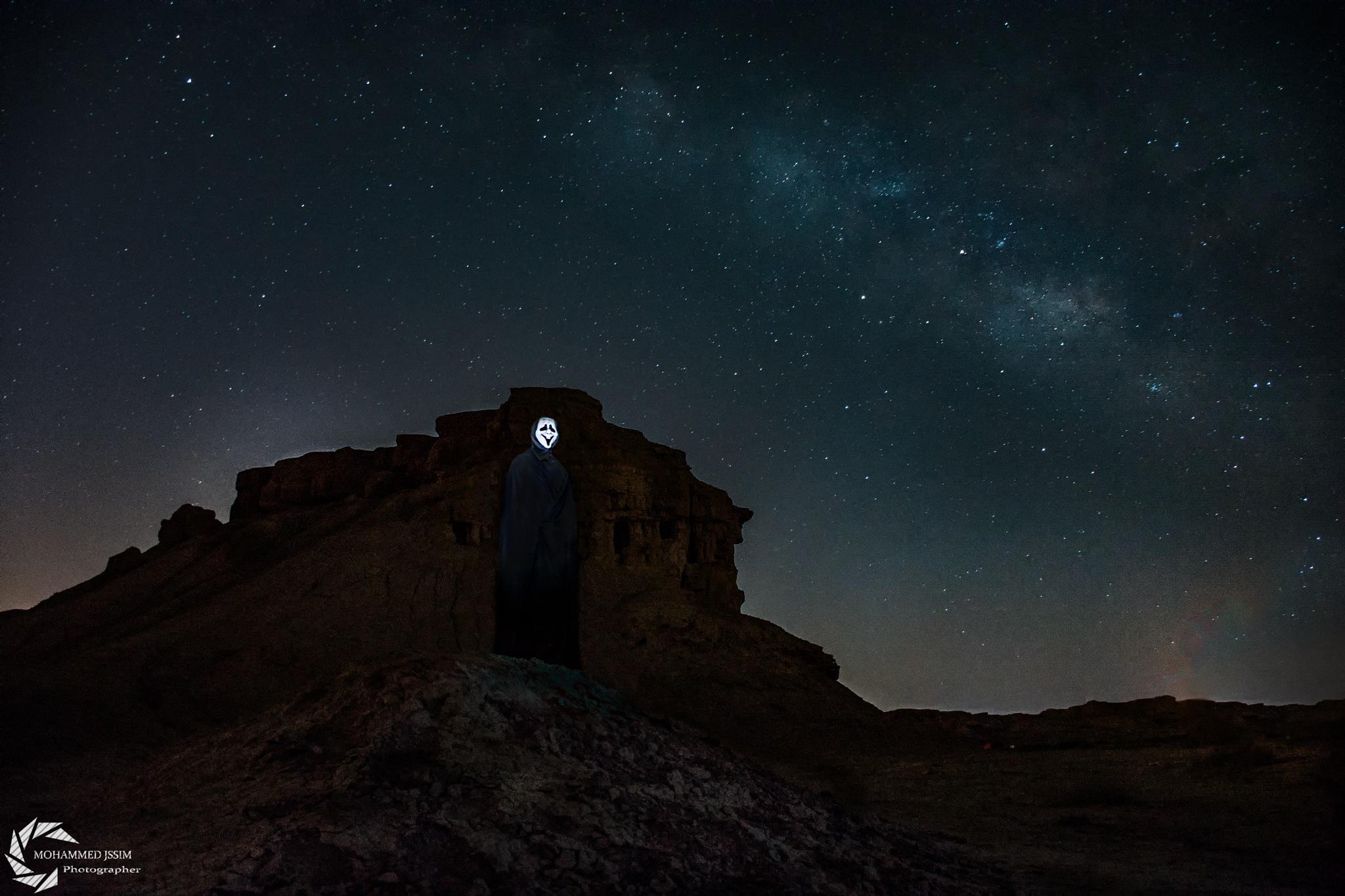 عمل ثاني اليه في تصوير المجره تجربتي البسيطه by Mohammed Jassim