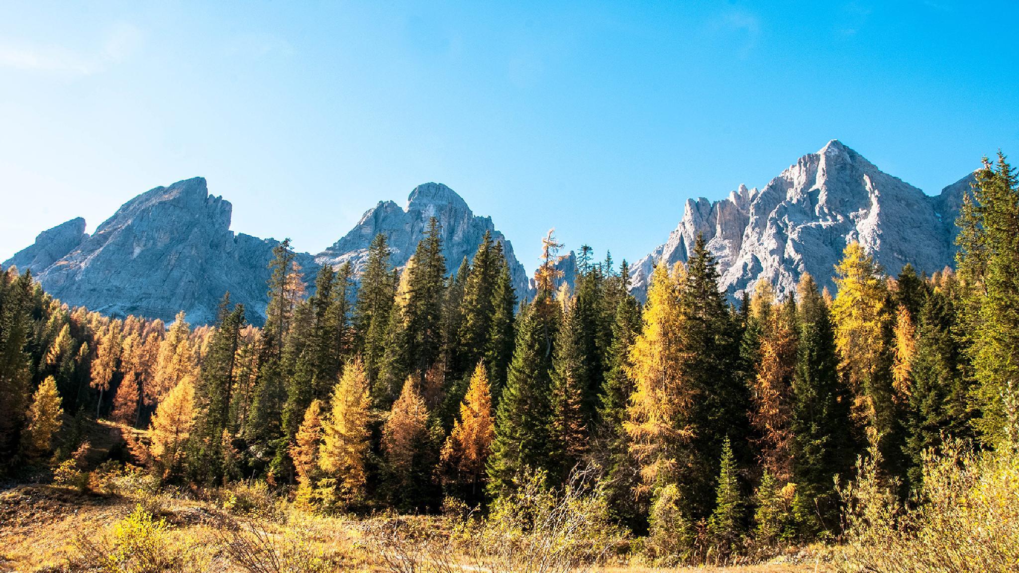 Tre cime di Lavaredo TN Italy by Roberto Scottini