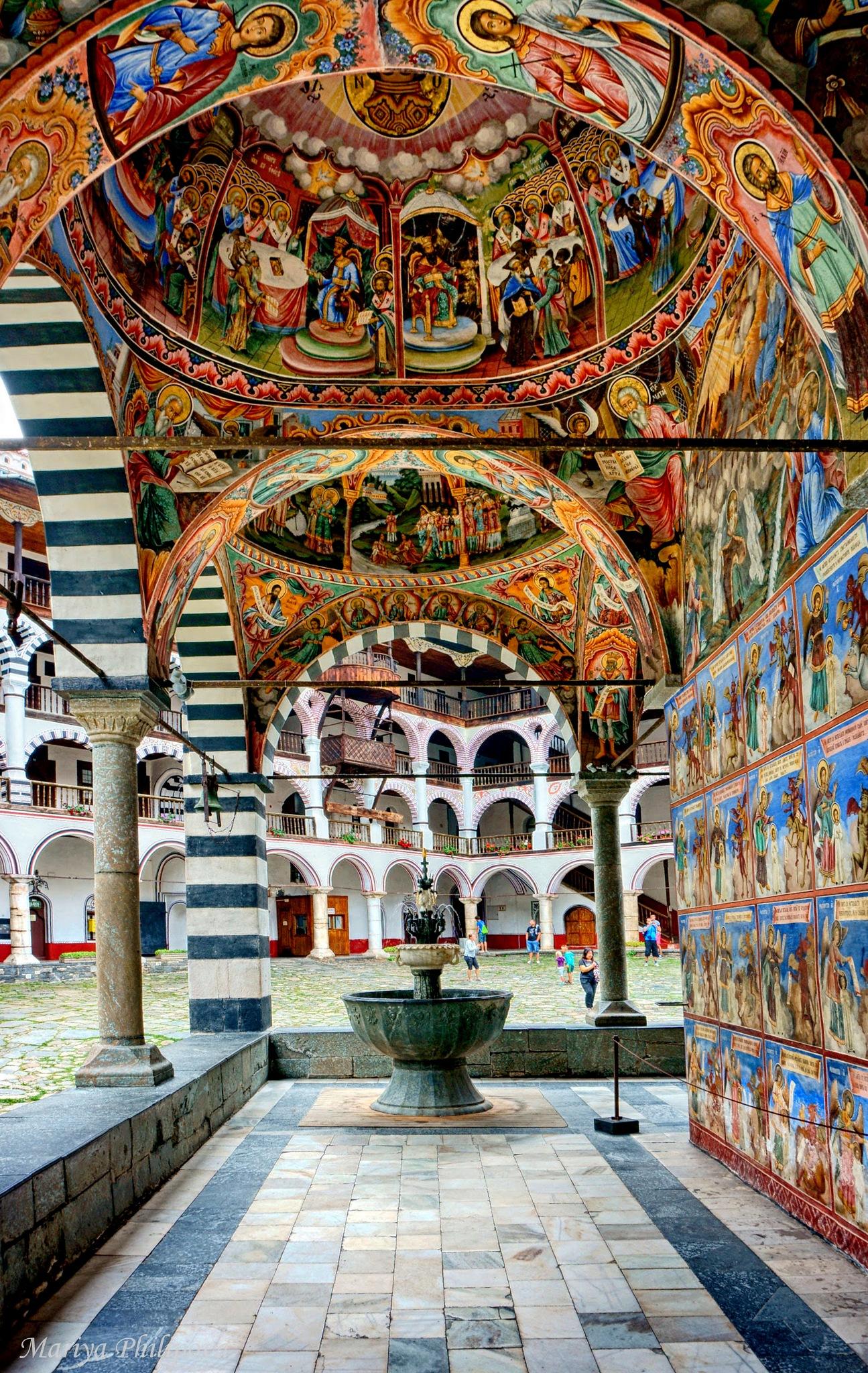 The main church of the Rila Monastery  by MariyaPhilipova