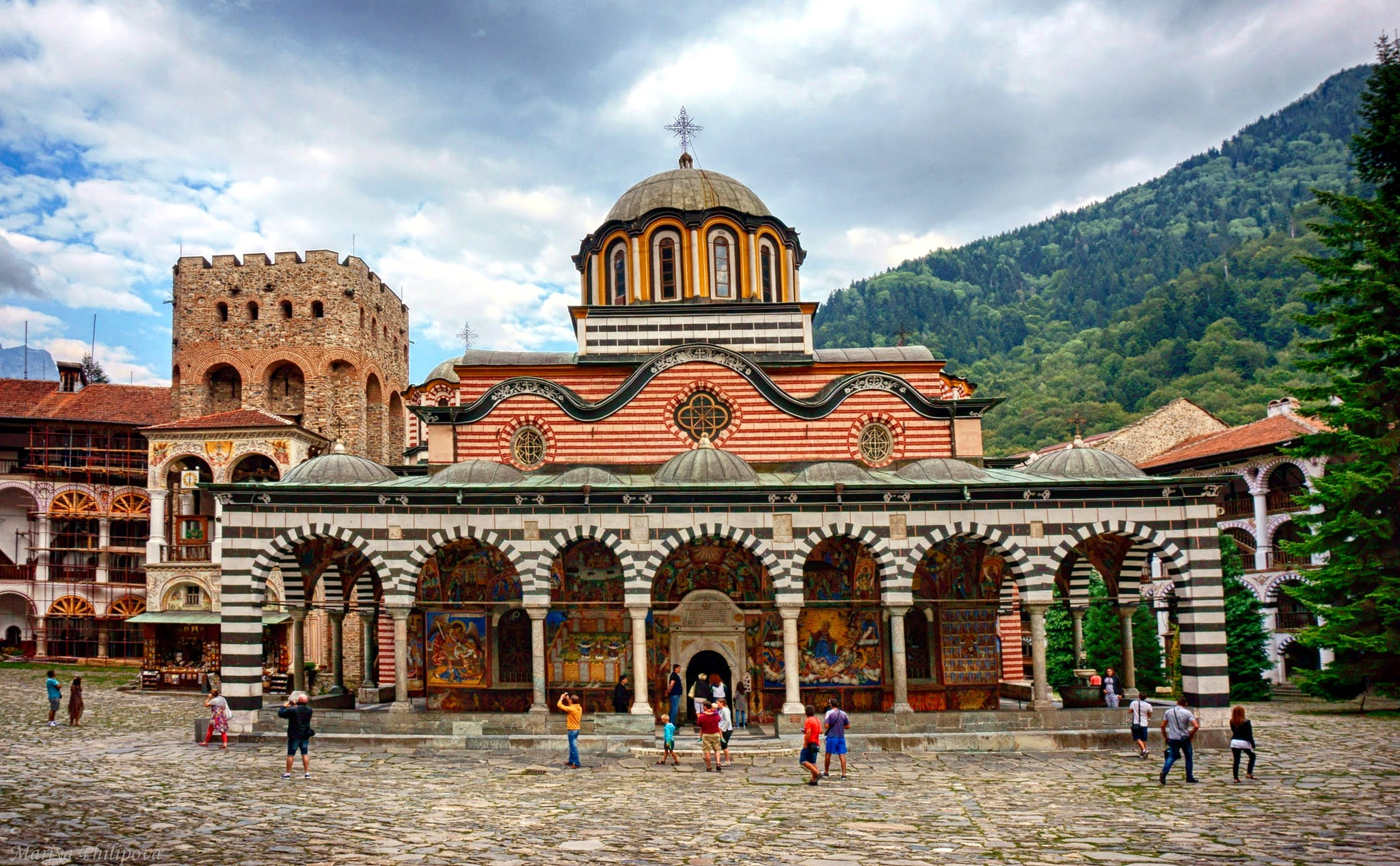 The main church of the Rila Monastery by MariyaPhilipova