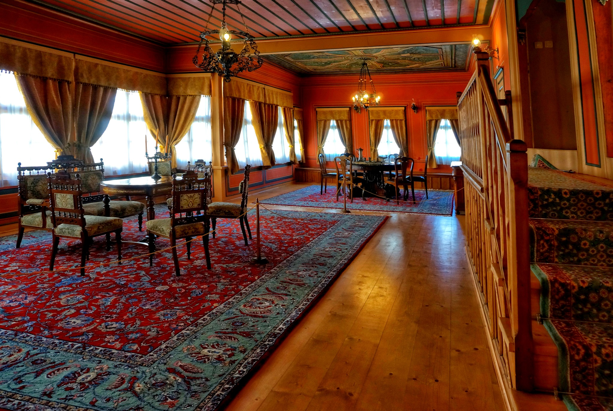 Klianti House - the red room by MariyaPhilipova