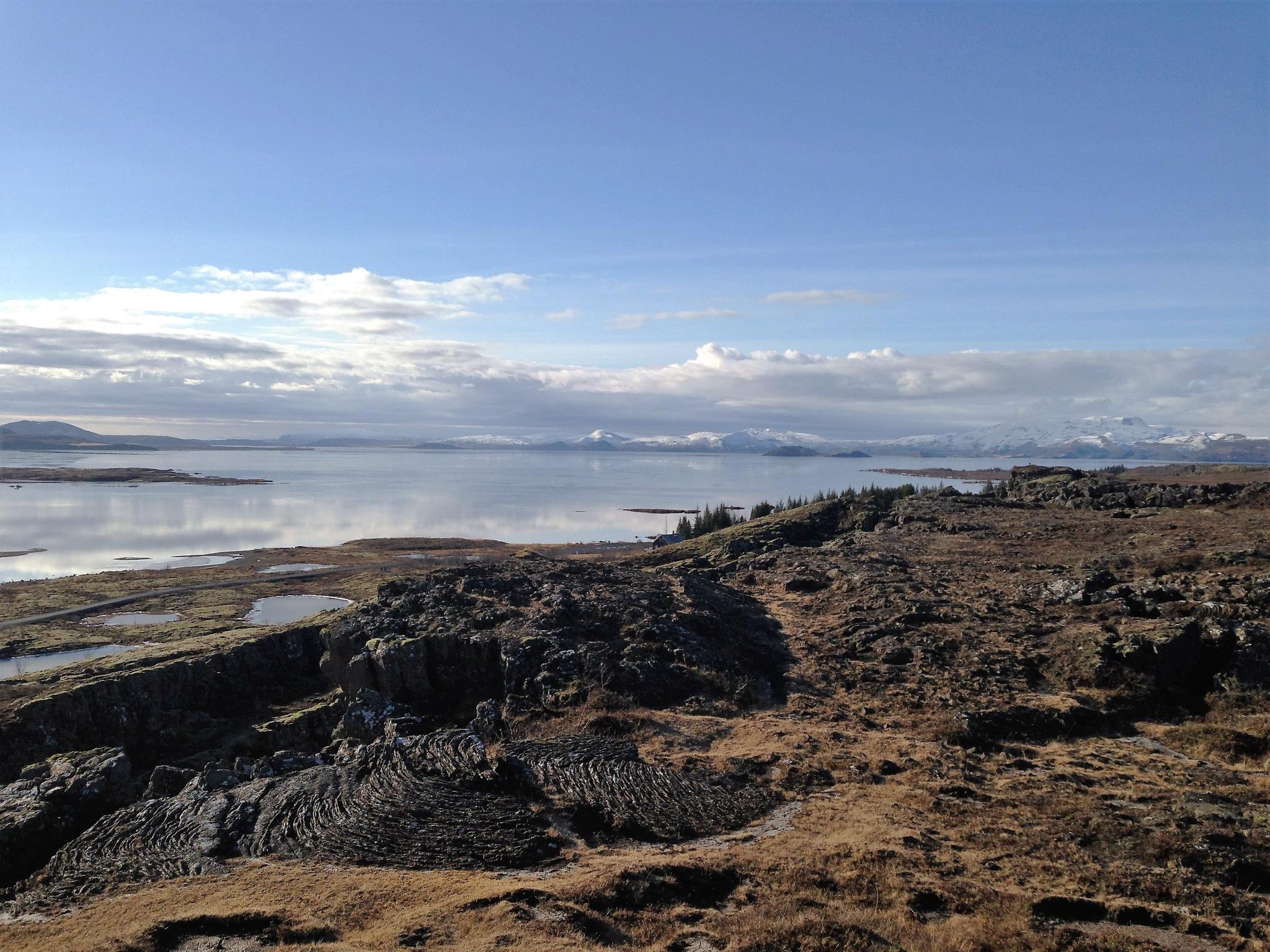 Thingvallavatn (Þingvallavatn) Lake by Jack Moore