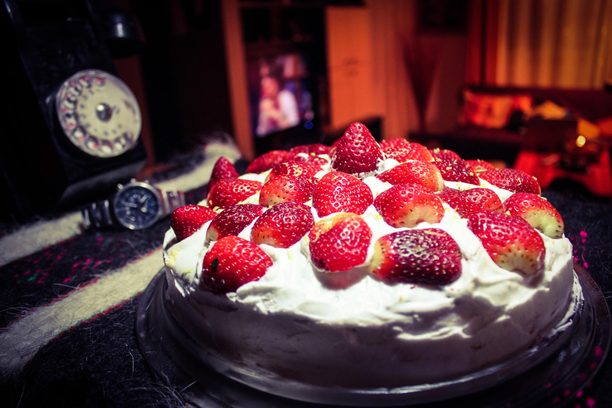 strawberry pie by DADCI