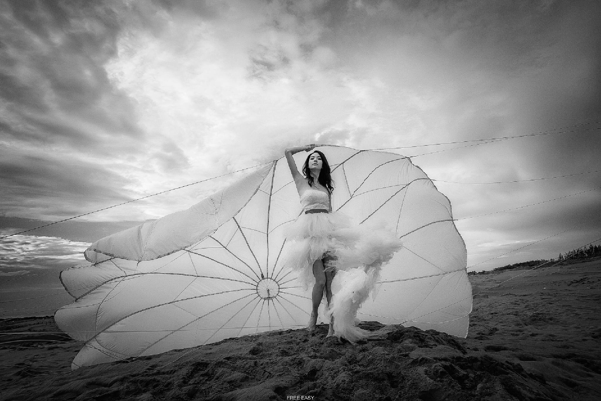 天使降落....... by 鄭阿乃