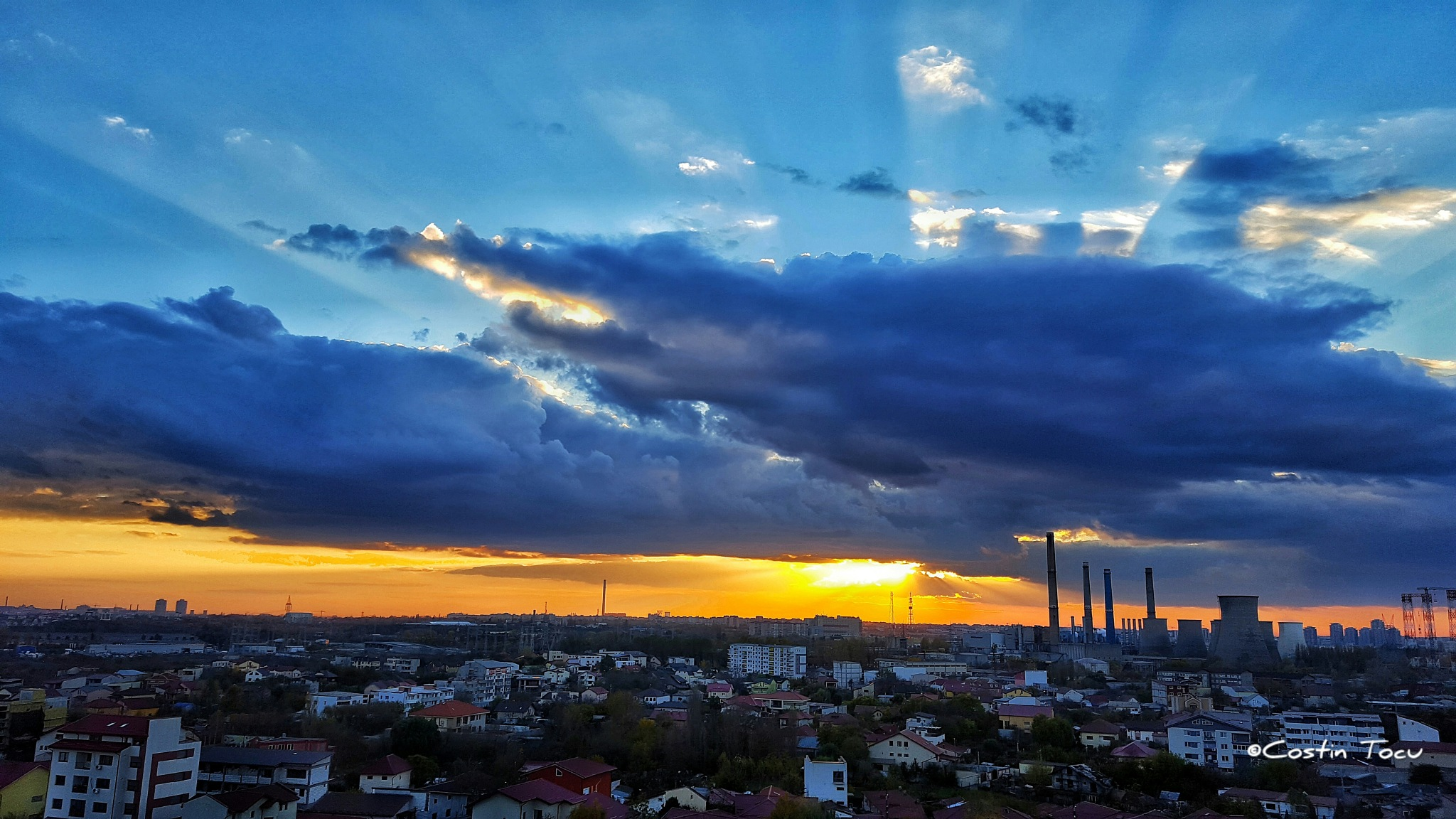 October sunset  by CostinMarius