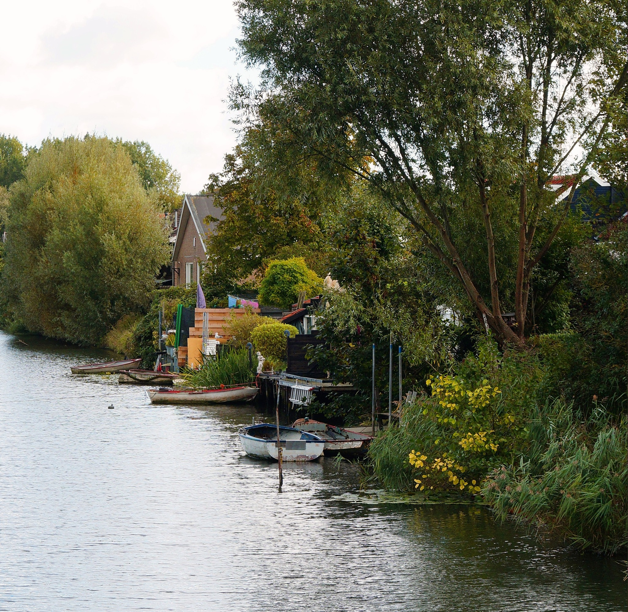 Alongside the Canal by Marian Baay