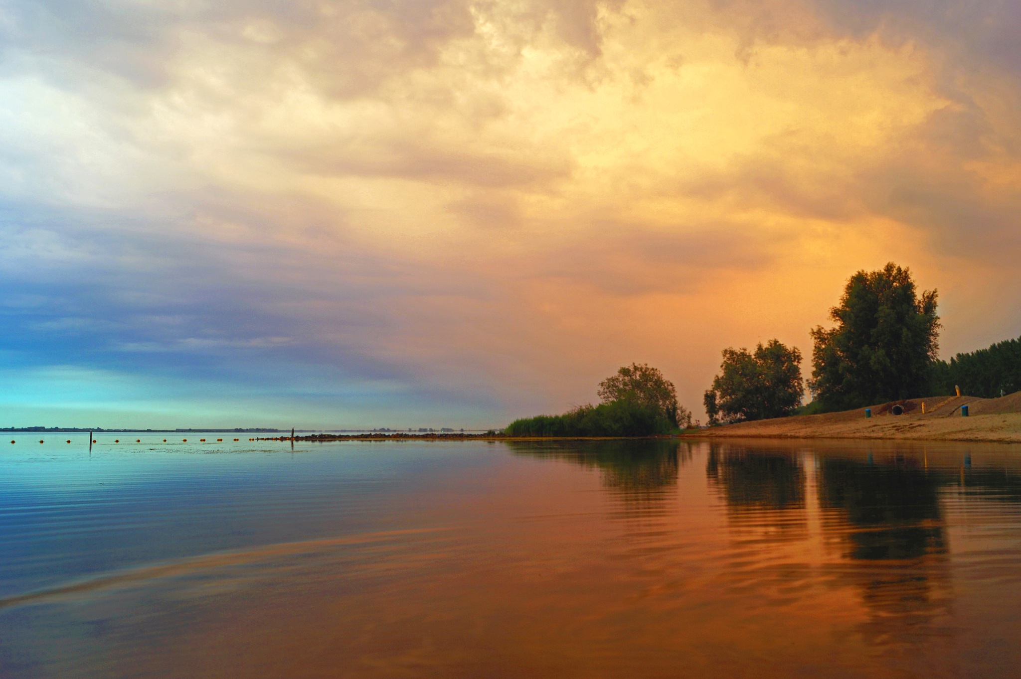 Dawn Clouds by Marian Baay