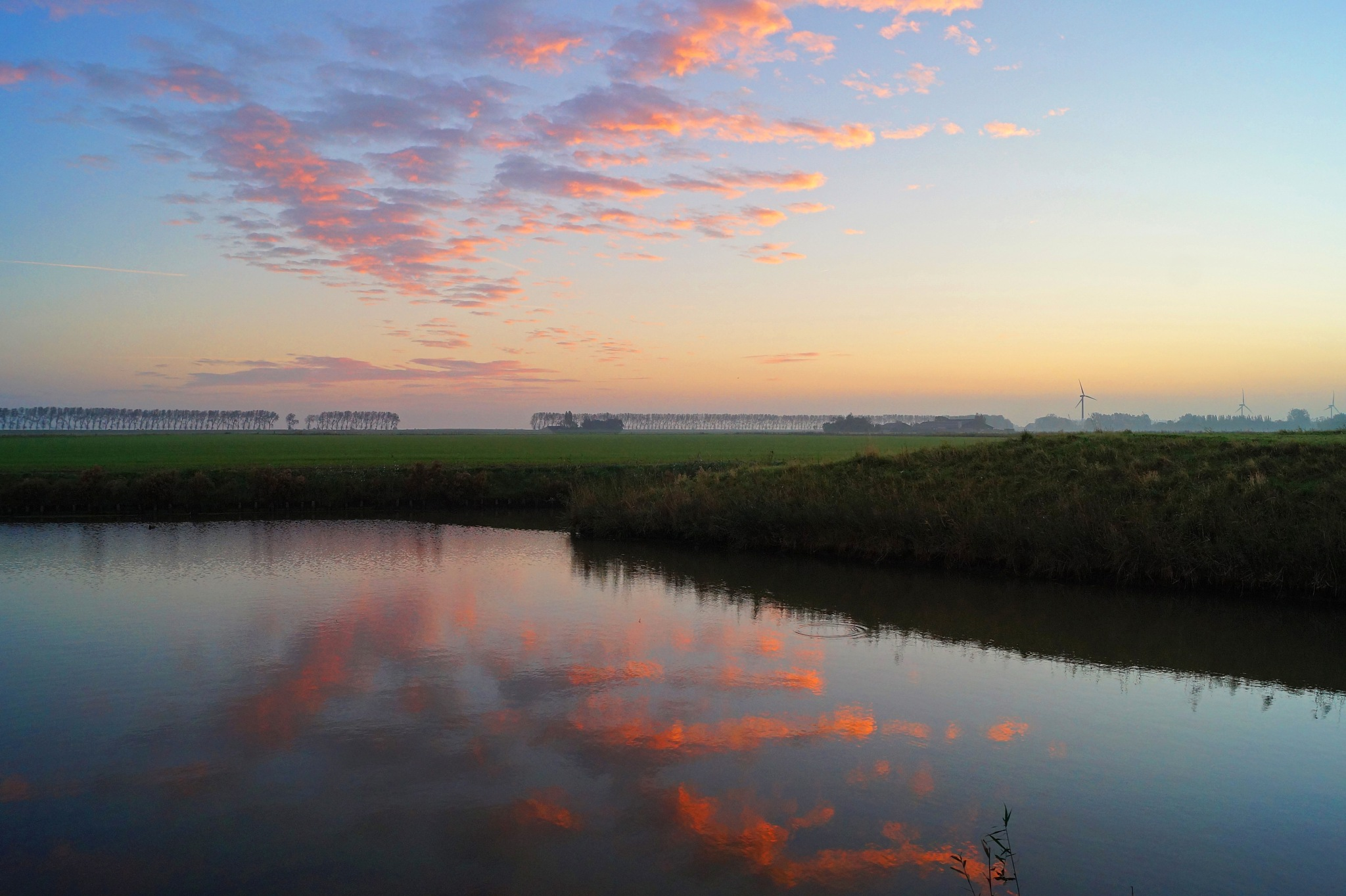 Sunrise Reflections by Marian Baay