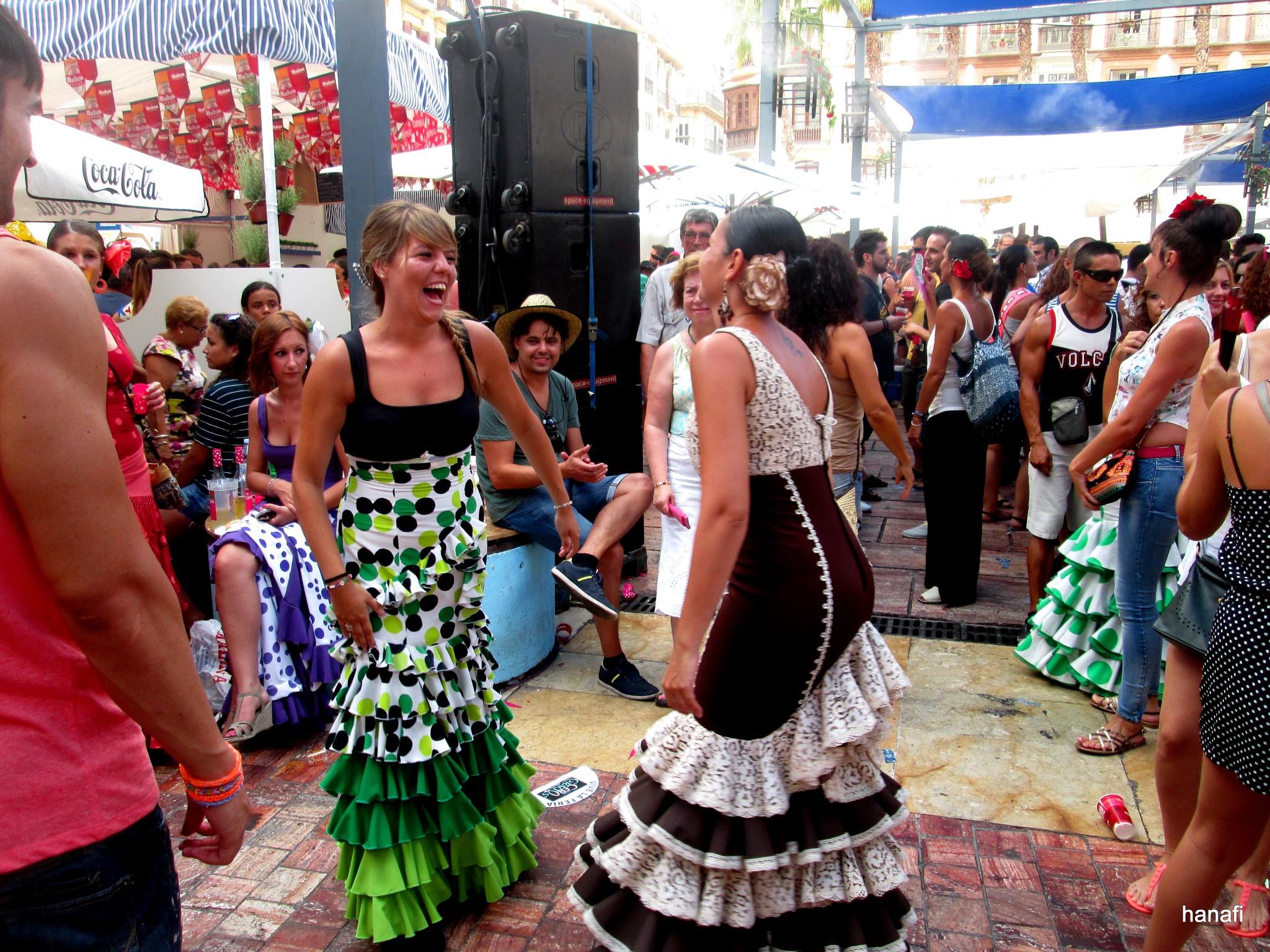 Feria de Malaga  by Khalid Hanafi