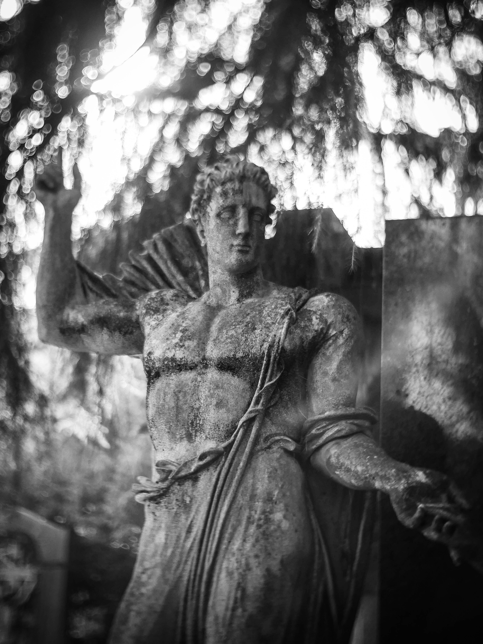 Photo in Black and White #cemetery #statues #cimitero monumentale #angel #milan #milano #sculptures #art