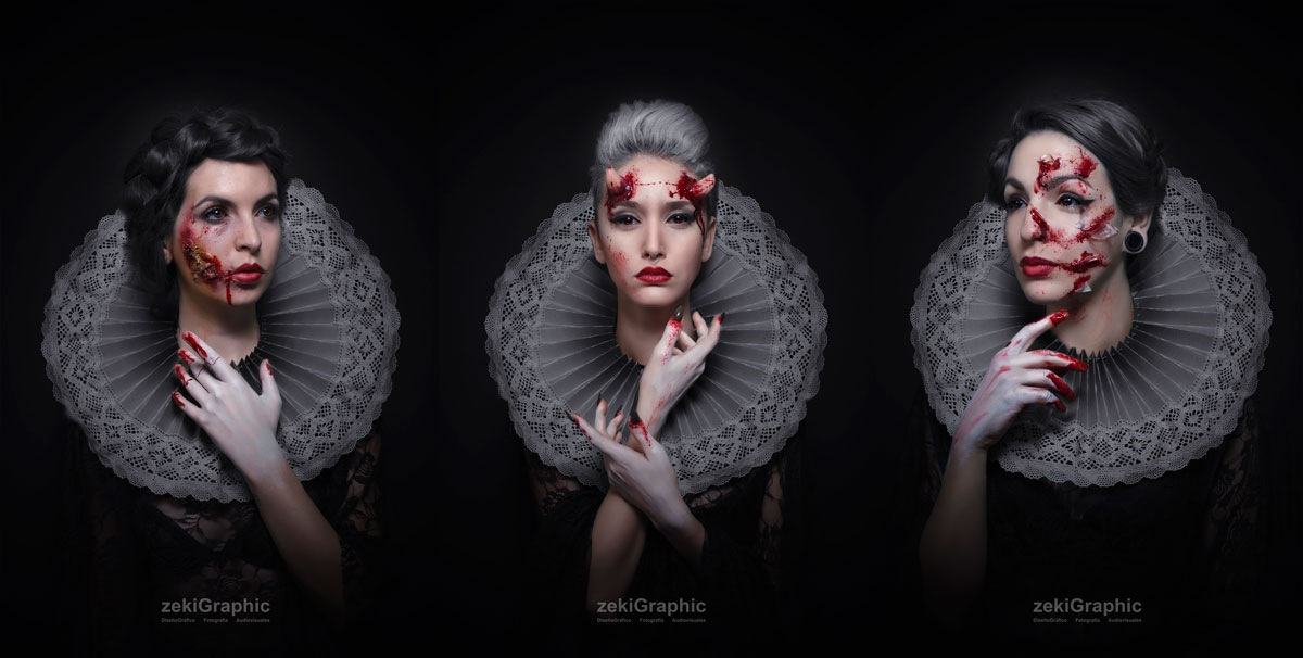 Las damas by zekiGraphic