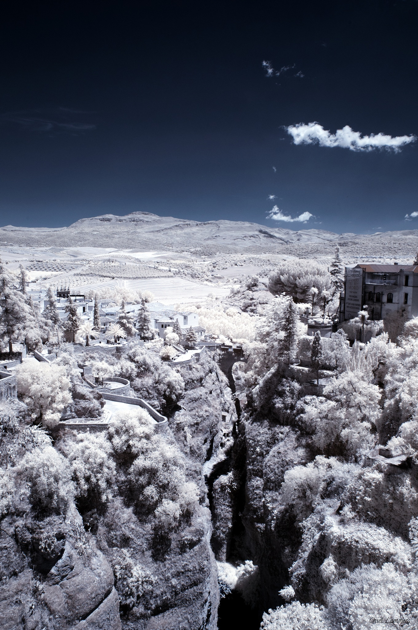 A View from Puente Nuevo by Chiel Lammers
