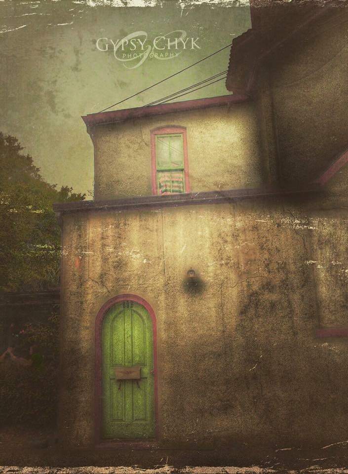 Behind the green door, there are no explanations -  by gypsychyk