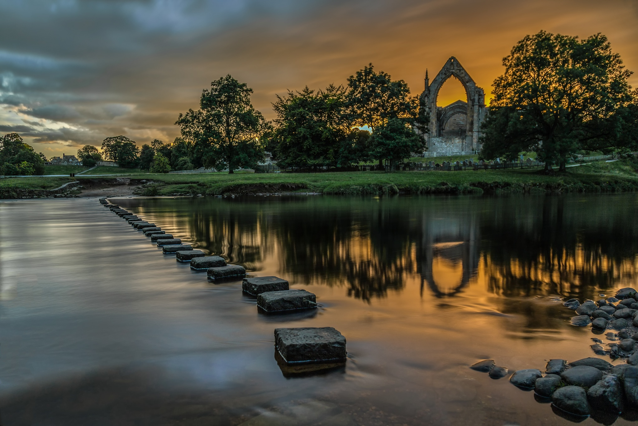The Old Abbey by Peter Wilson
