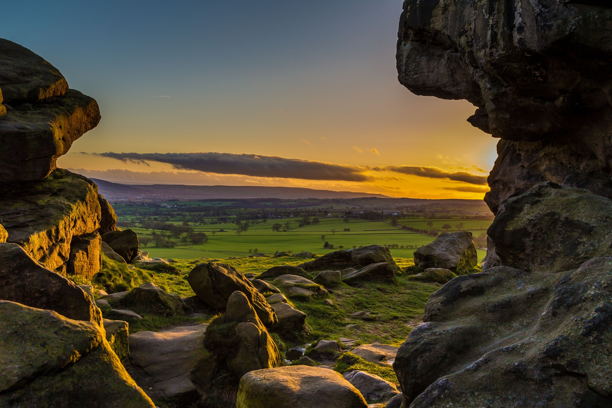 Through the Rocks. by Peter Wilson