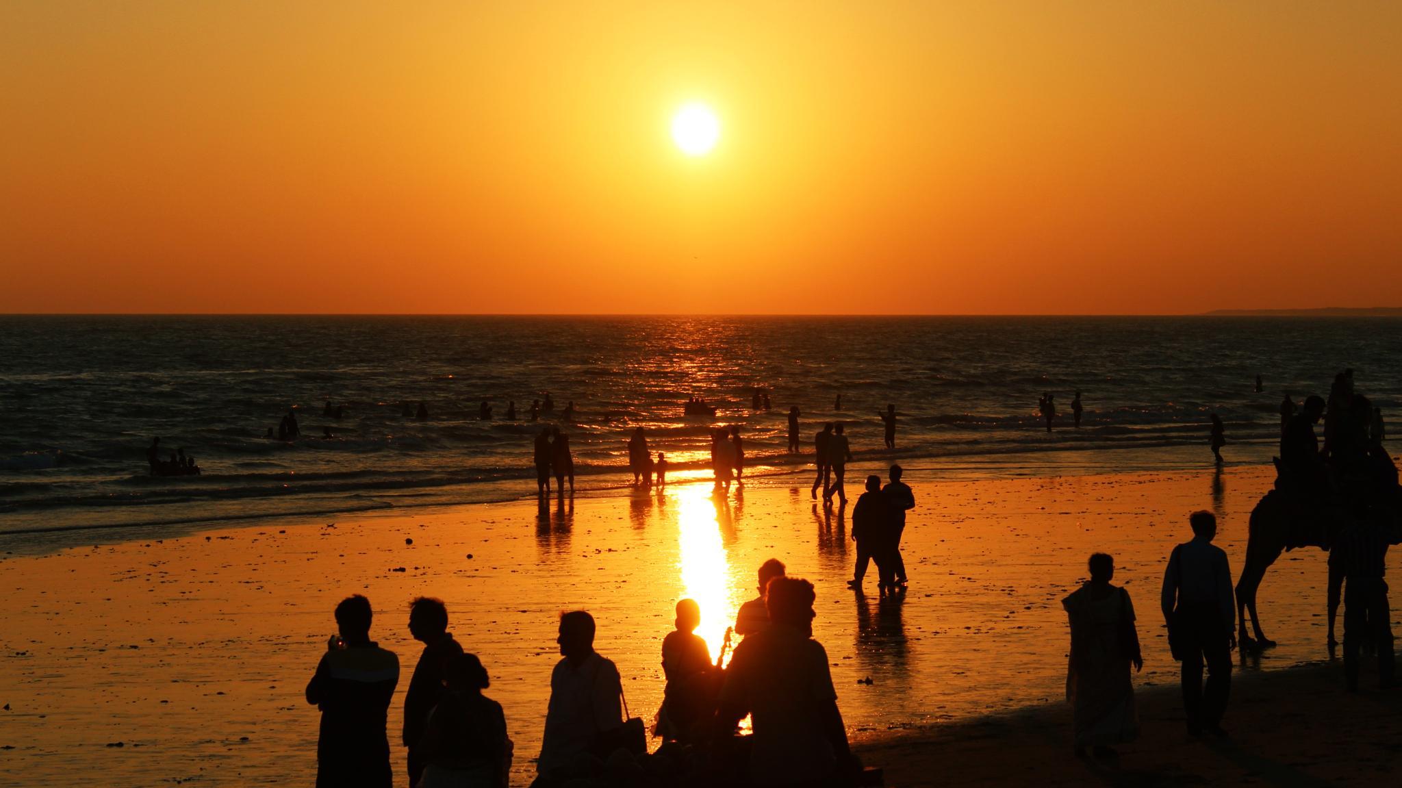 Mandvi Beach by Abhishek Sarkar