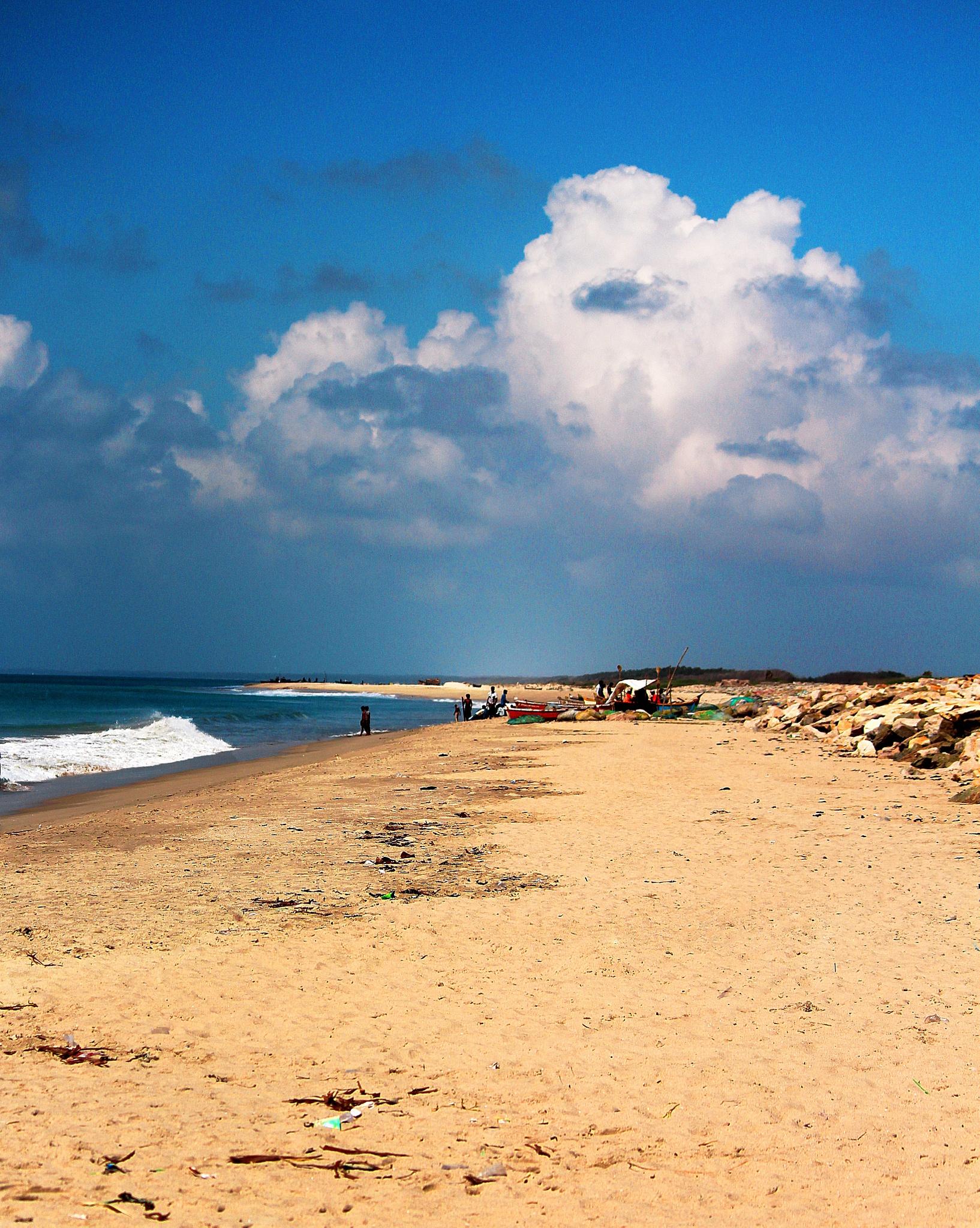 Rameswaram Beach by Abhishek Sarkar