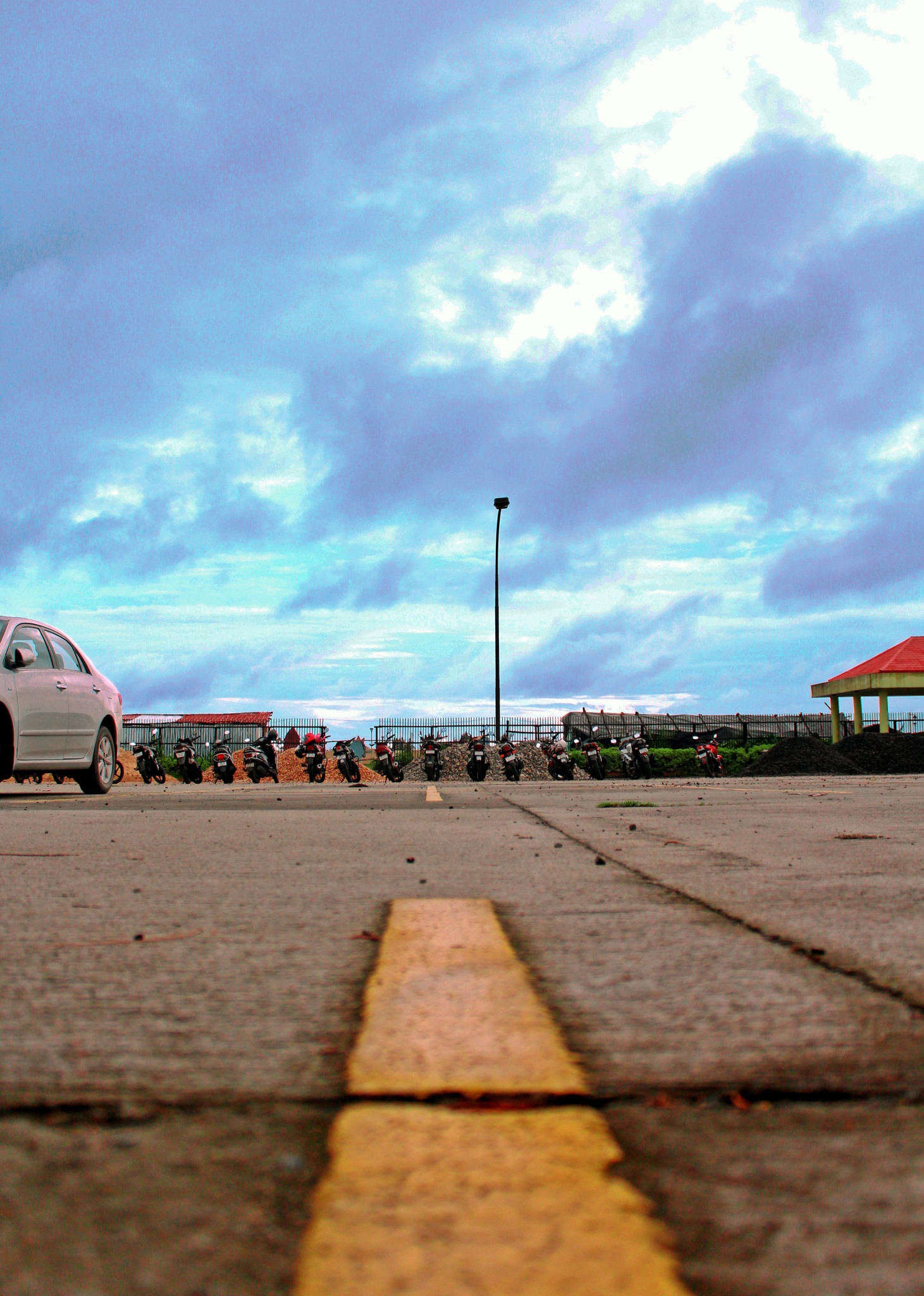 Parking Zone by Abhishek Sarkar