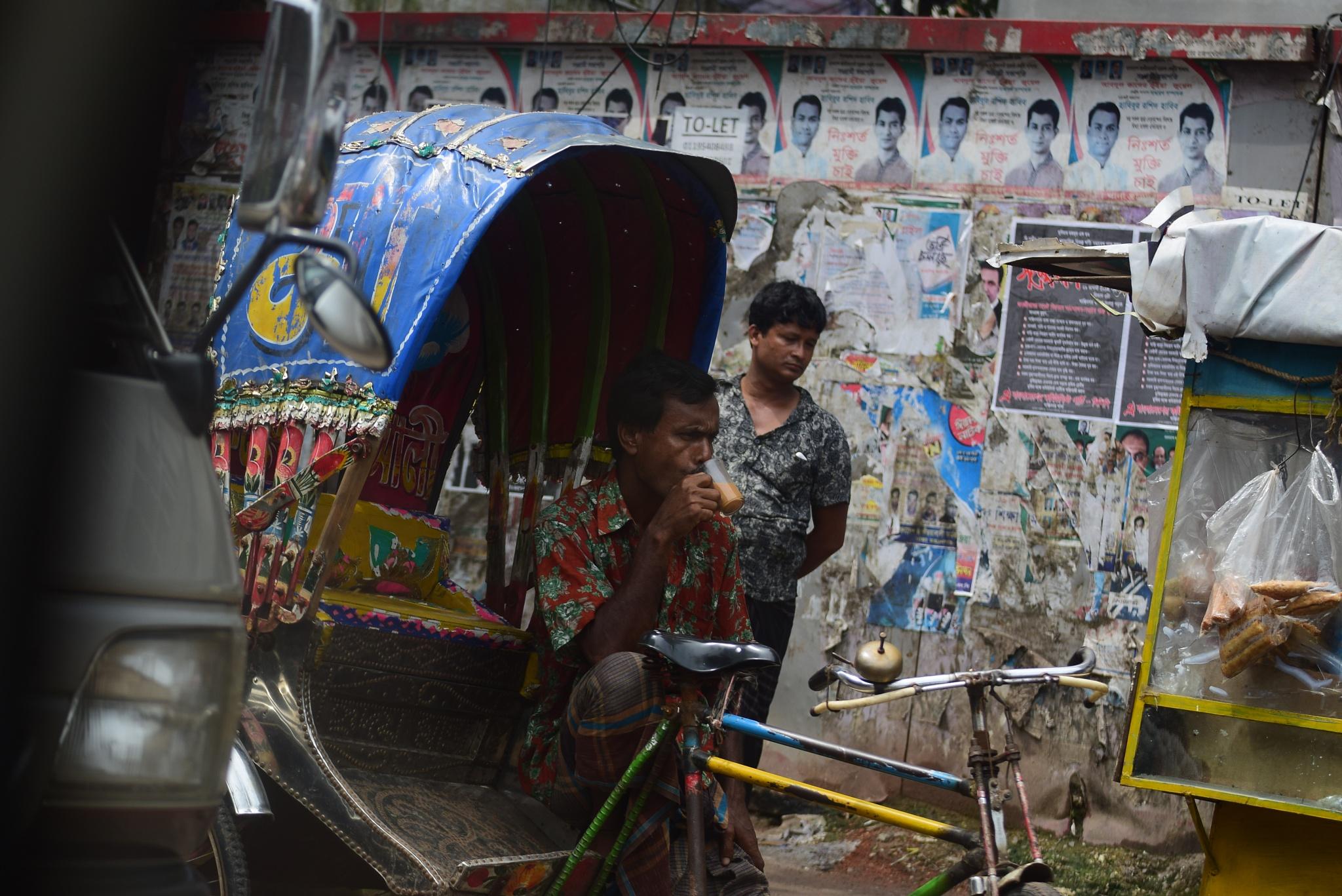 Rickshaw by Md Golam Murshed