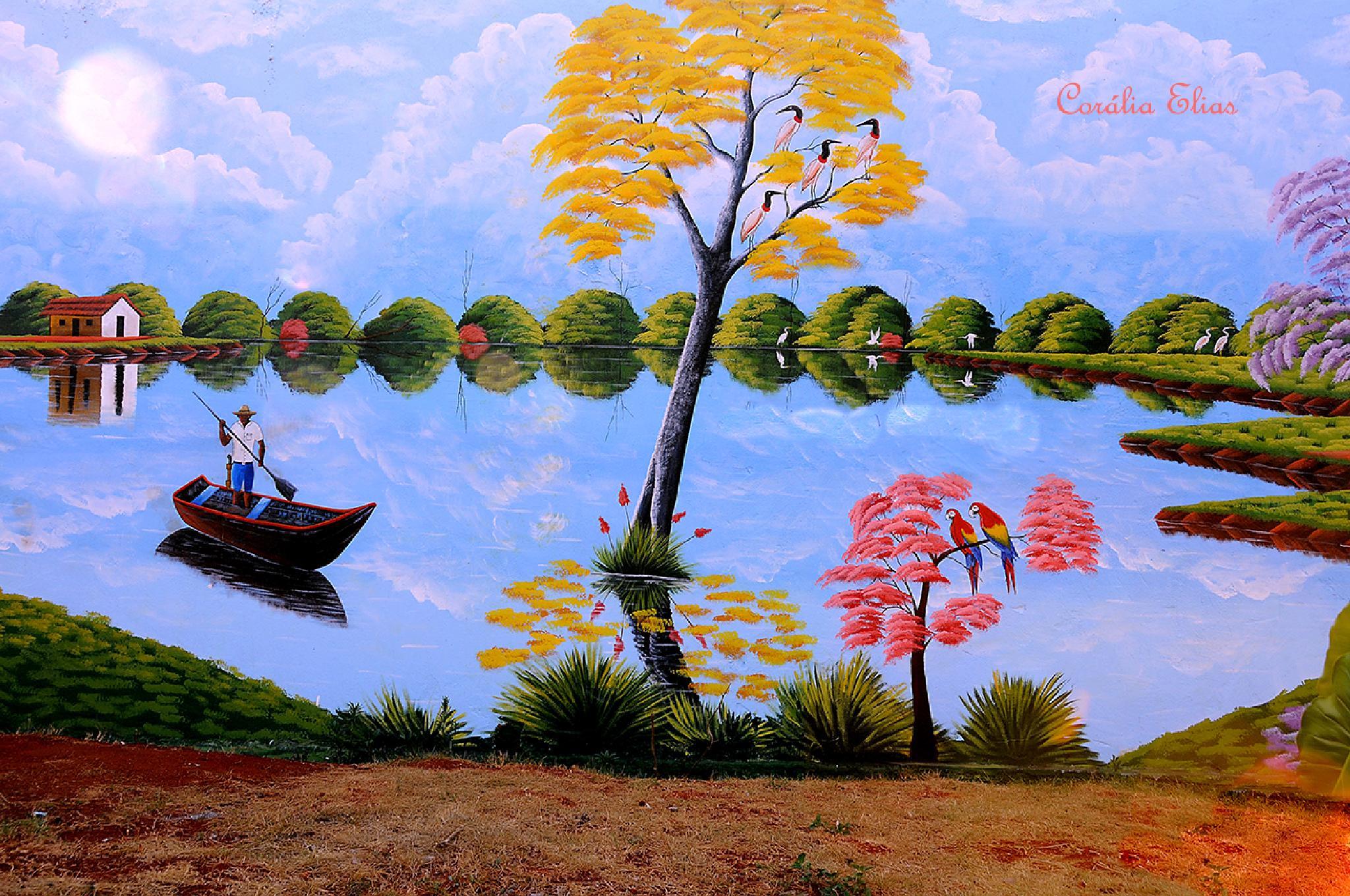 O Paraíso. by Corália Elias Marinho Moraes