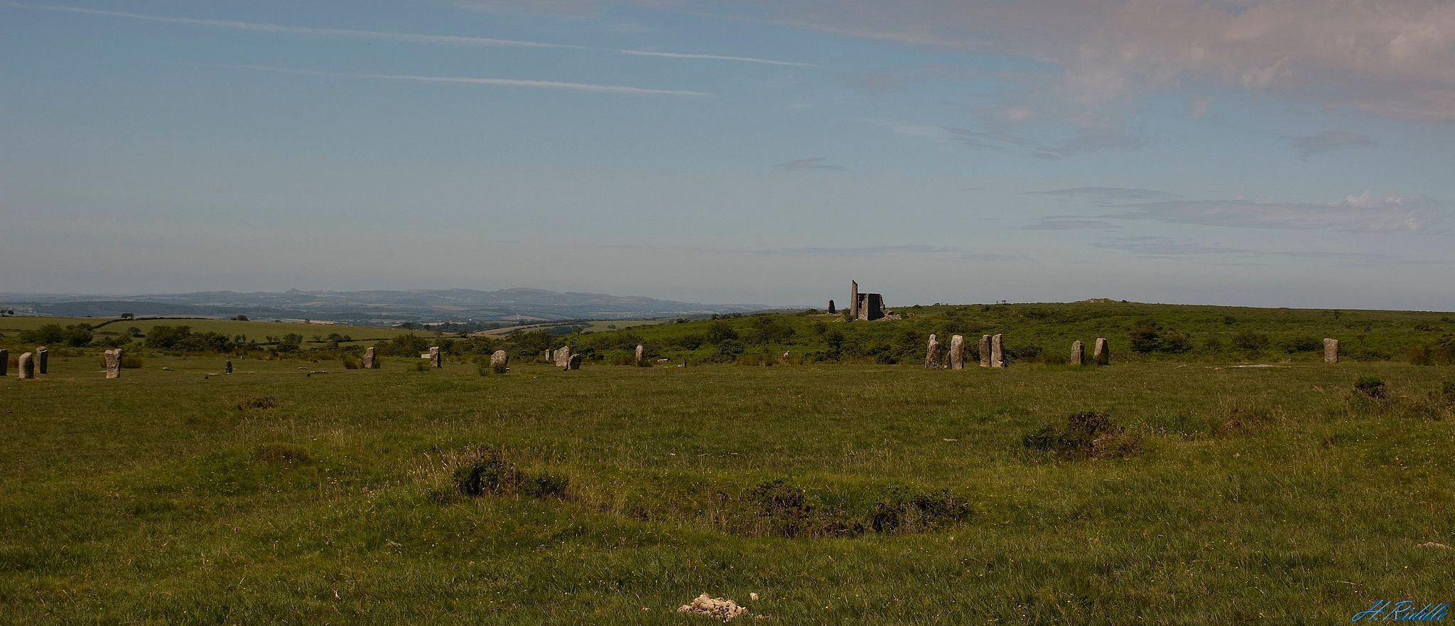 Bodmin Moor and South Phoenix Mine by Herb Riddle