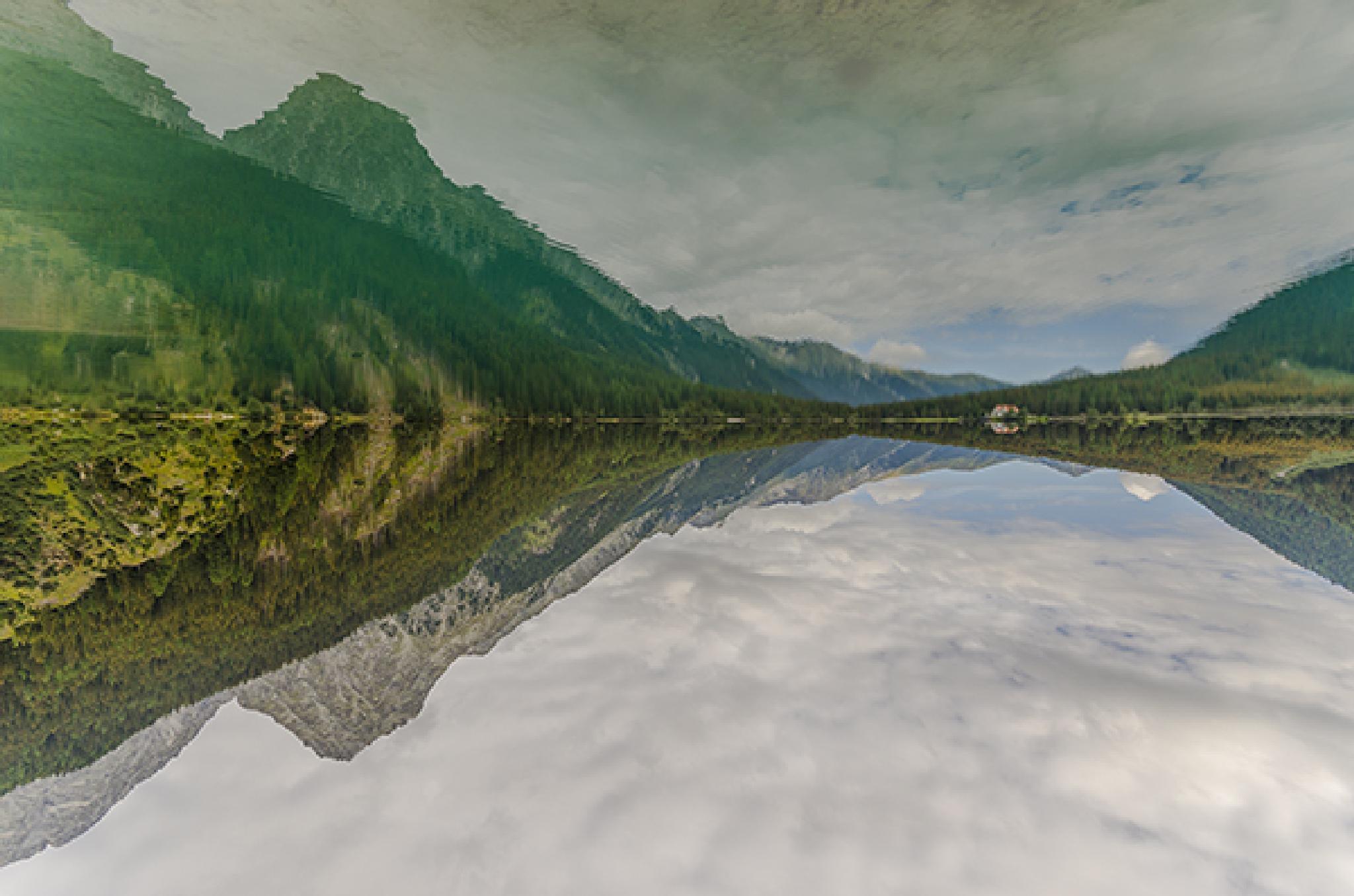 Anterselva Lake by Stefano Zago