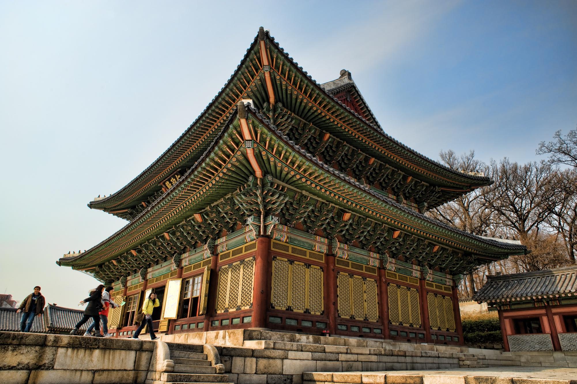 Changdeokgung by geirole
