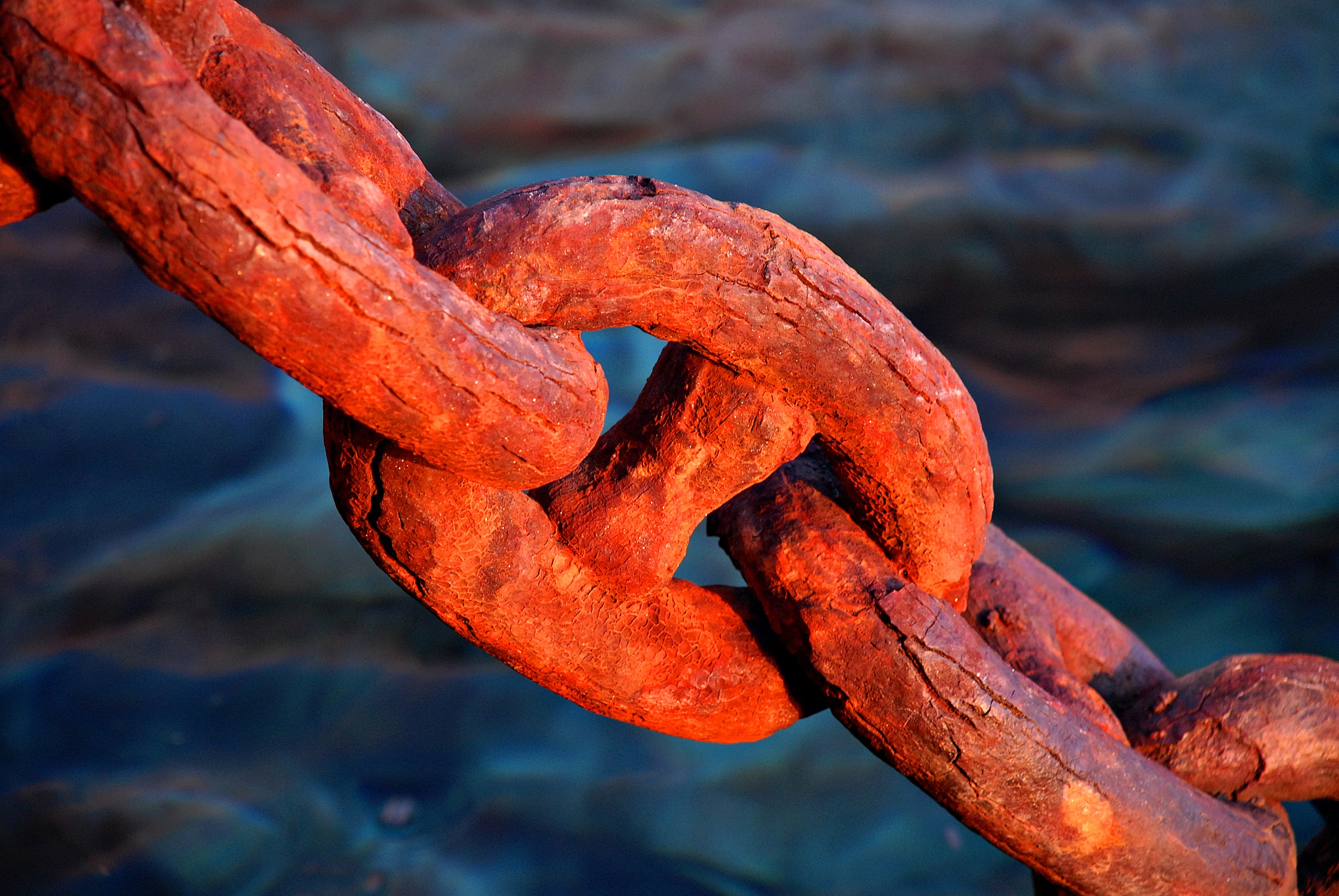 Rusty chain by geirole